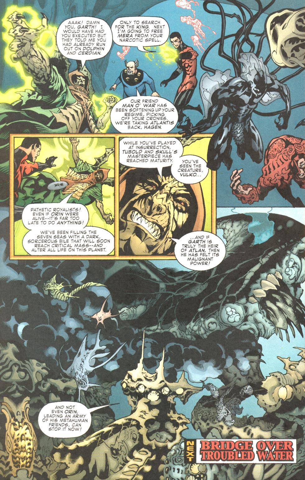 Read online Aquaman (2003) comic -  Issue #11 - 24