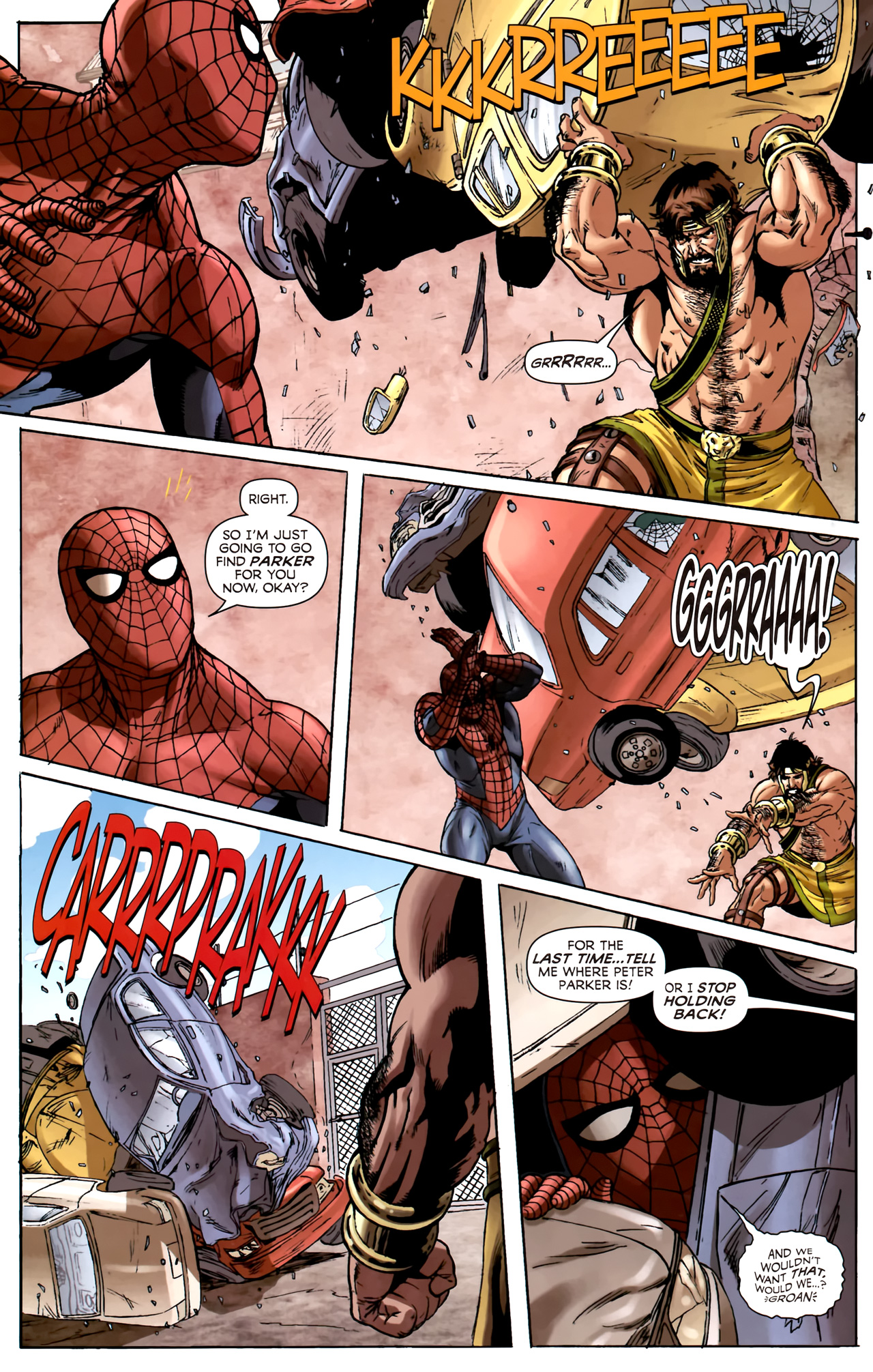 Read online Assault on New Olympus Prologue comic -  Issue #Assault on New Olympus Prologue Full - 23