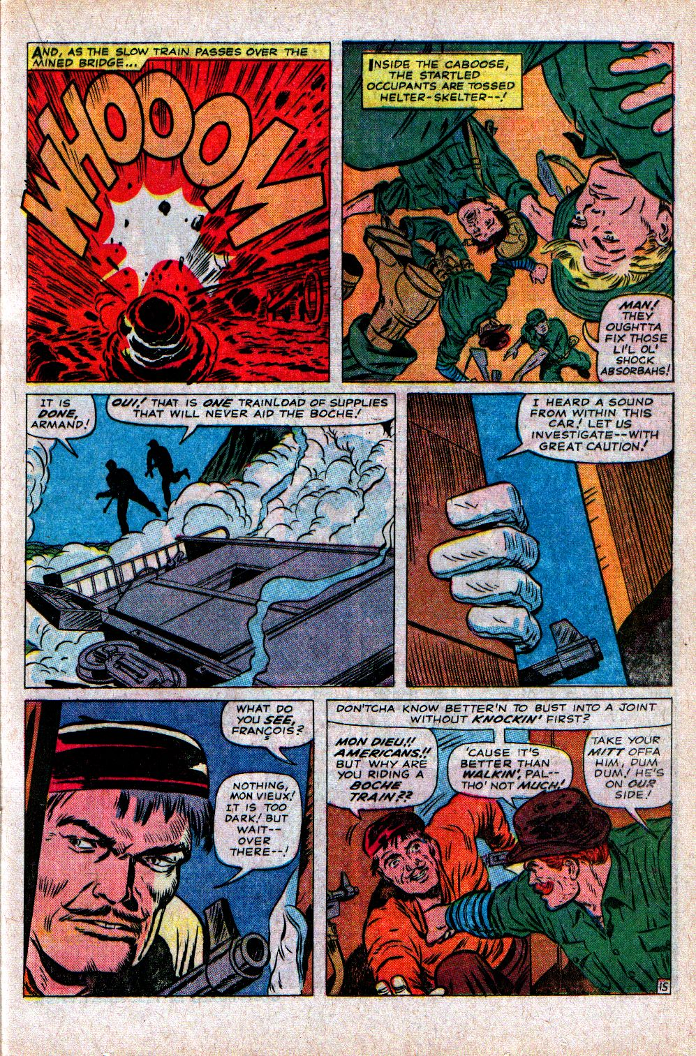 Read online Sgt. Fury comic -  Issue #21 - 21