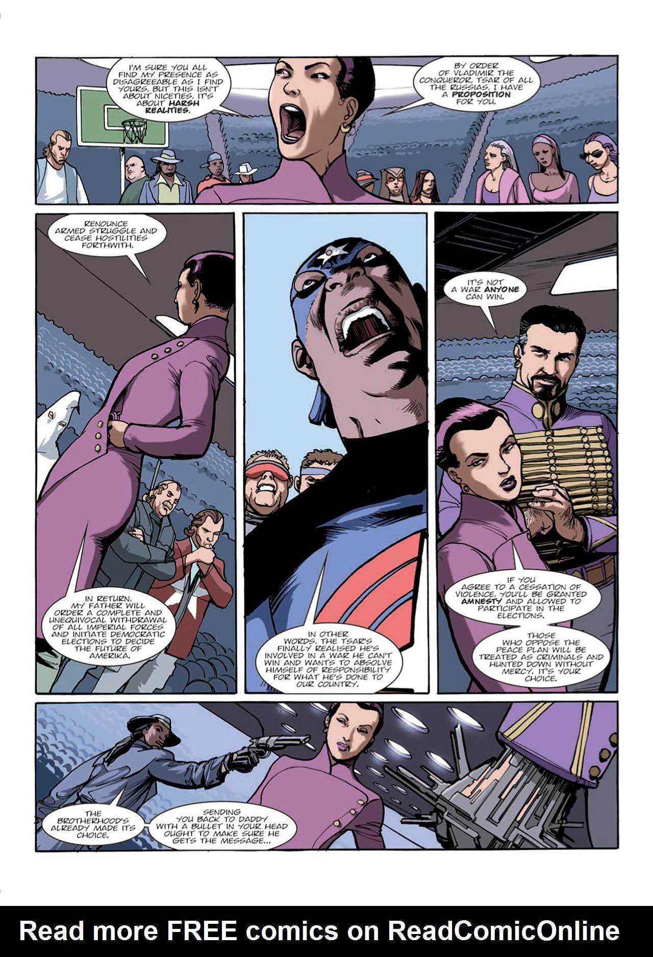 Read online Nikolai Dante comic -  Issue # TPB 9 - 40