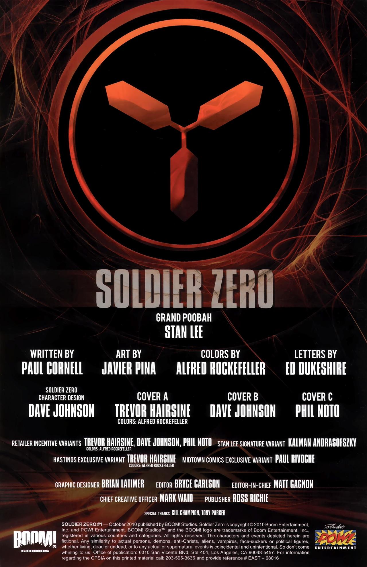 Read online Soldier Zero comic -  Issue #1 - 3