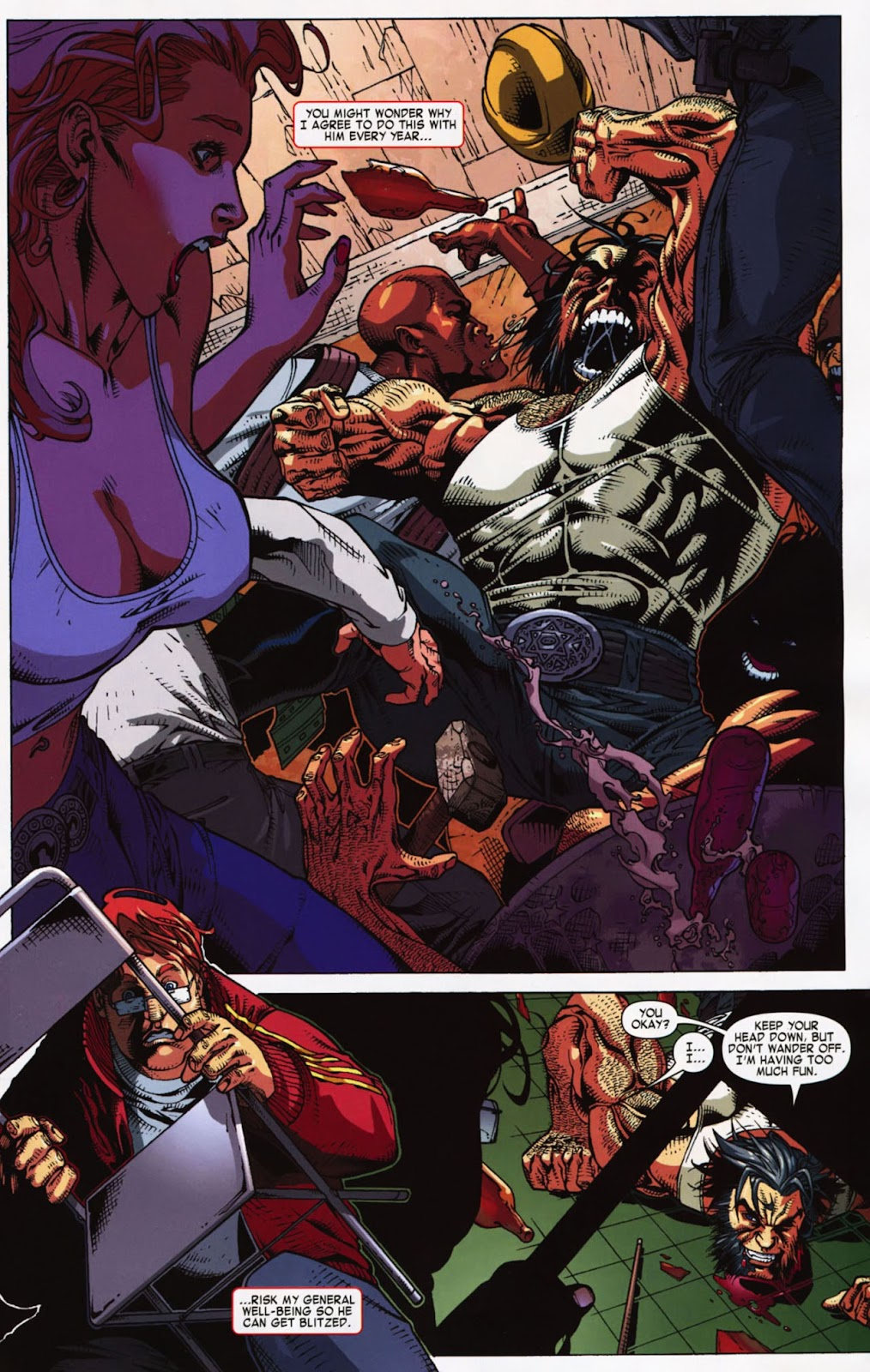 Read online Wolverine (2003) comic -  Issue #900 - 52