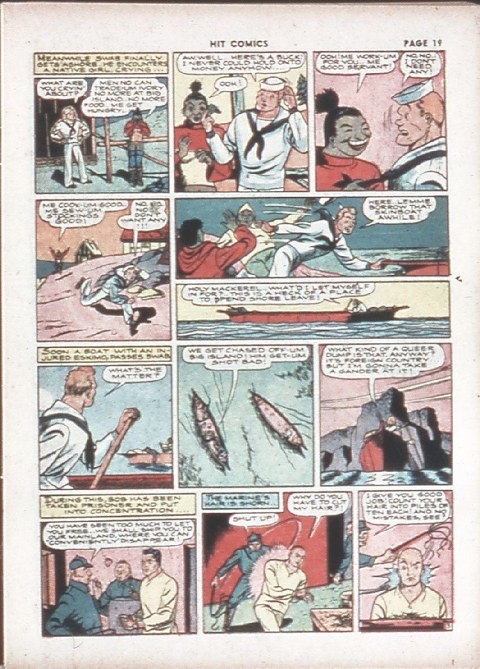 Read online Hit Comics comic -  Issue #7 - 21