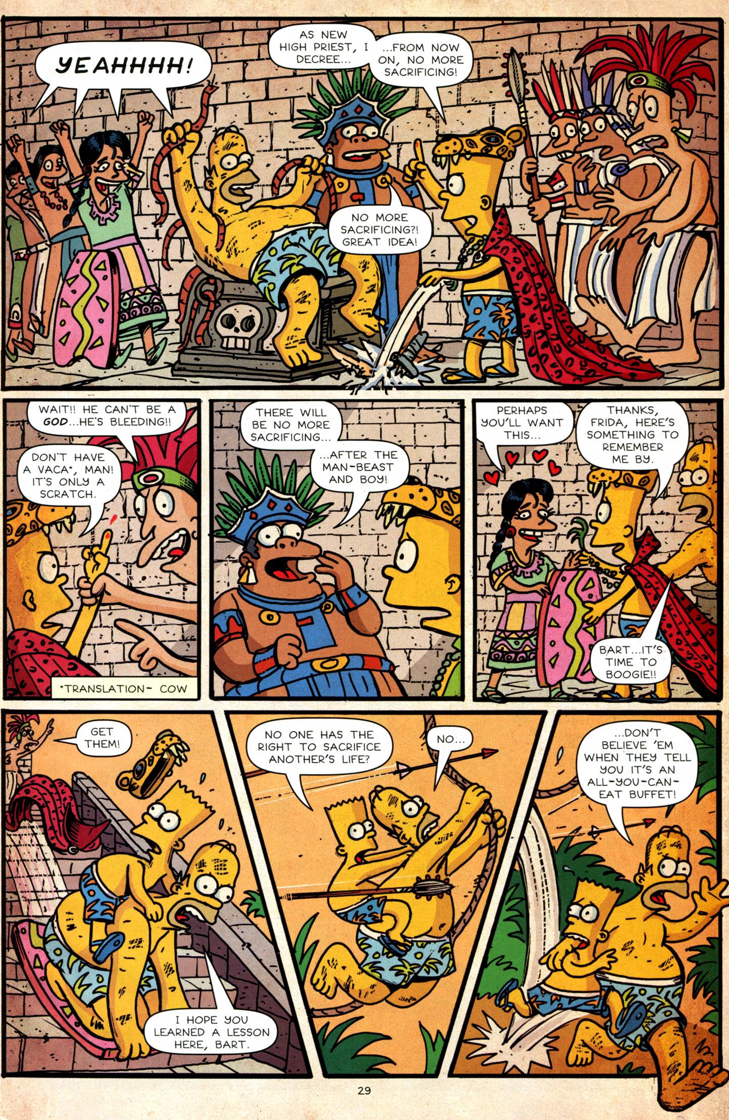Read online Simpsons Comics Presents Bart Simpson comic -  Issue #64 - 31
