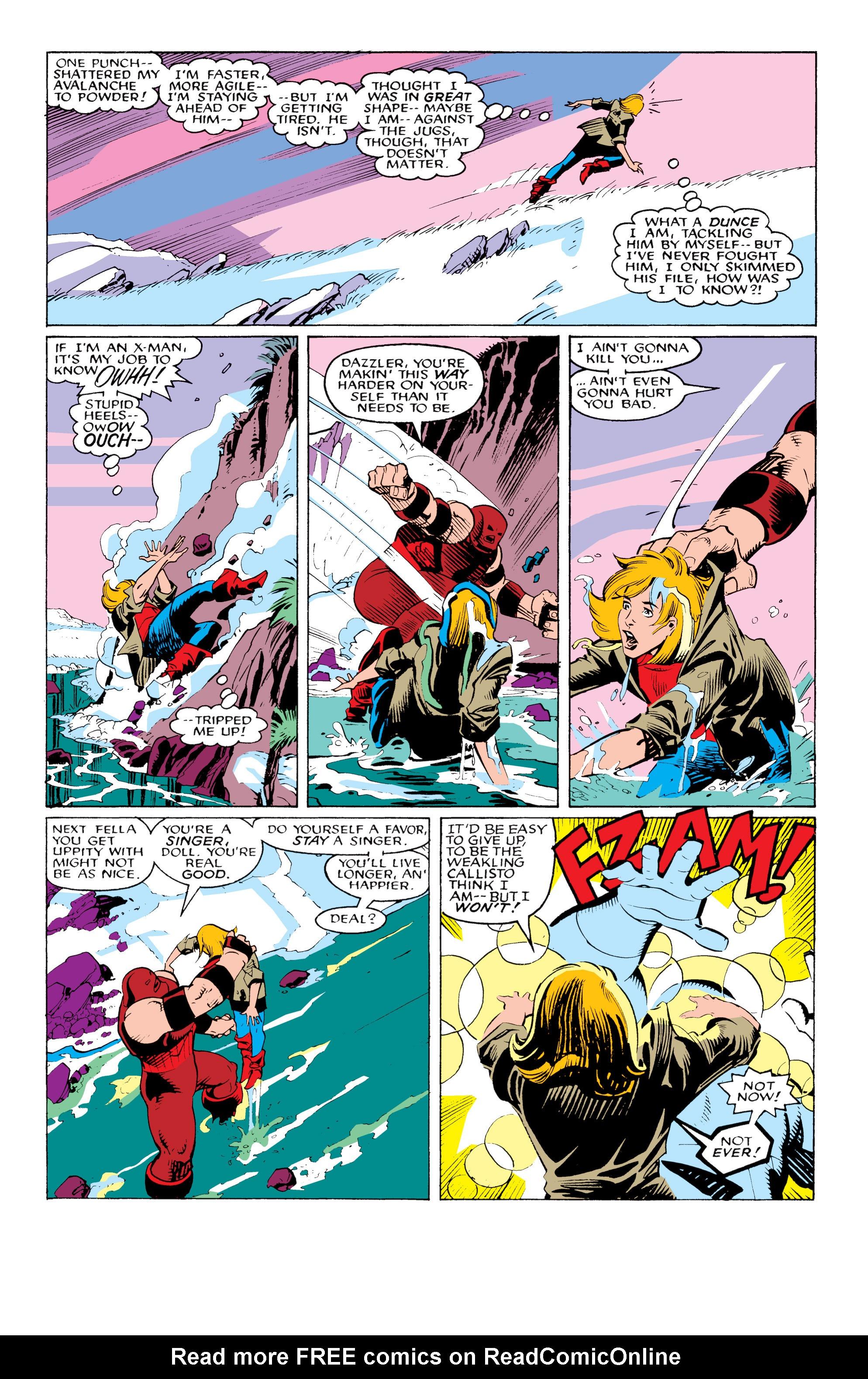 Read online Uncanny X-Men (1963) comic -  Issue #217 - 20