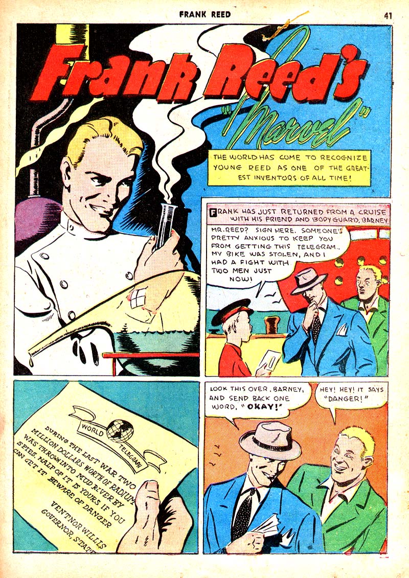 Read online Shadow Comics comic -  Issue #7 - 34
