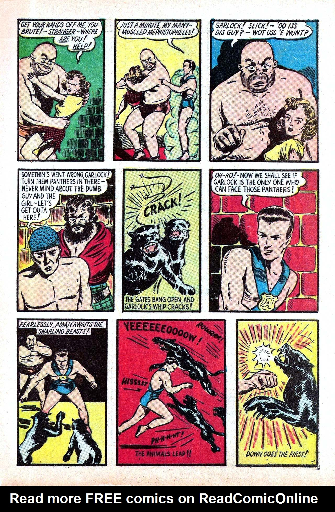 Read online Amazing Man Comics comic -  Issue #11 - 9