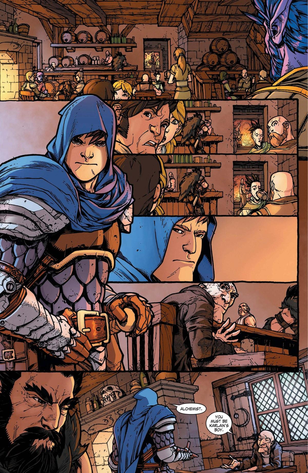 Read online World of Warcraft: Dark Riders comic -  Issue # Full - 6