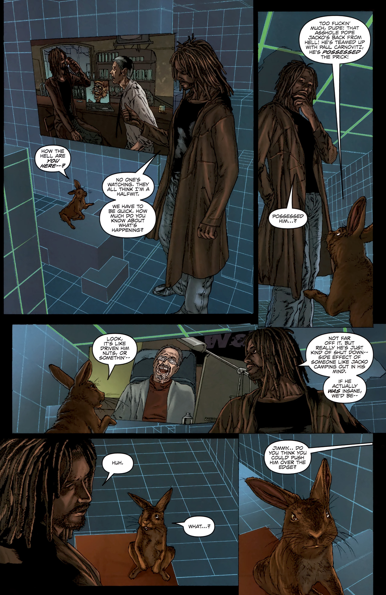 Read online Chronicles of Wormwood: The Last Battle comic -  Issue #6 - 10