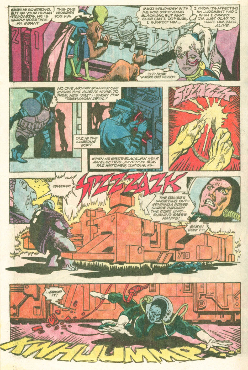 Read online Atari Force (1984) comic -  Issue #11 - 16