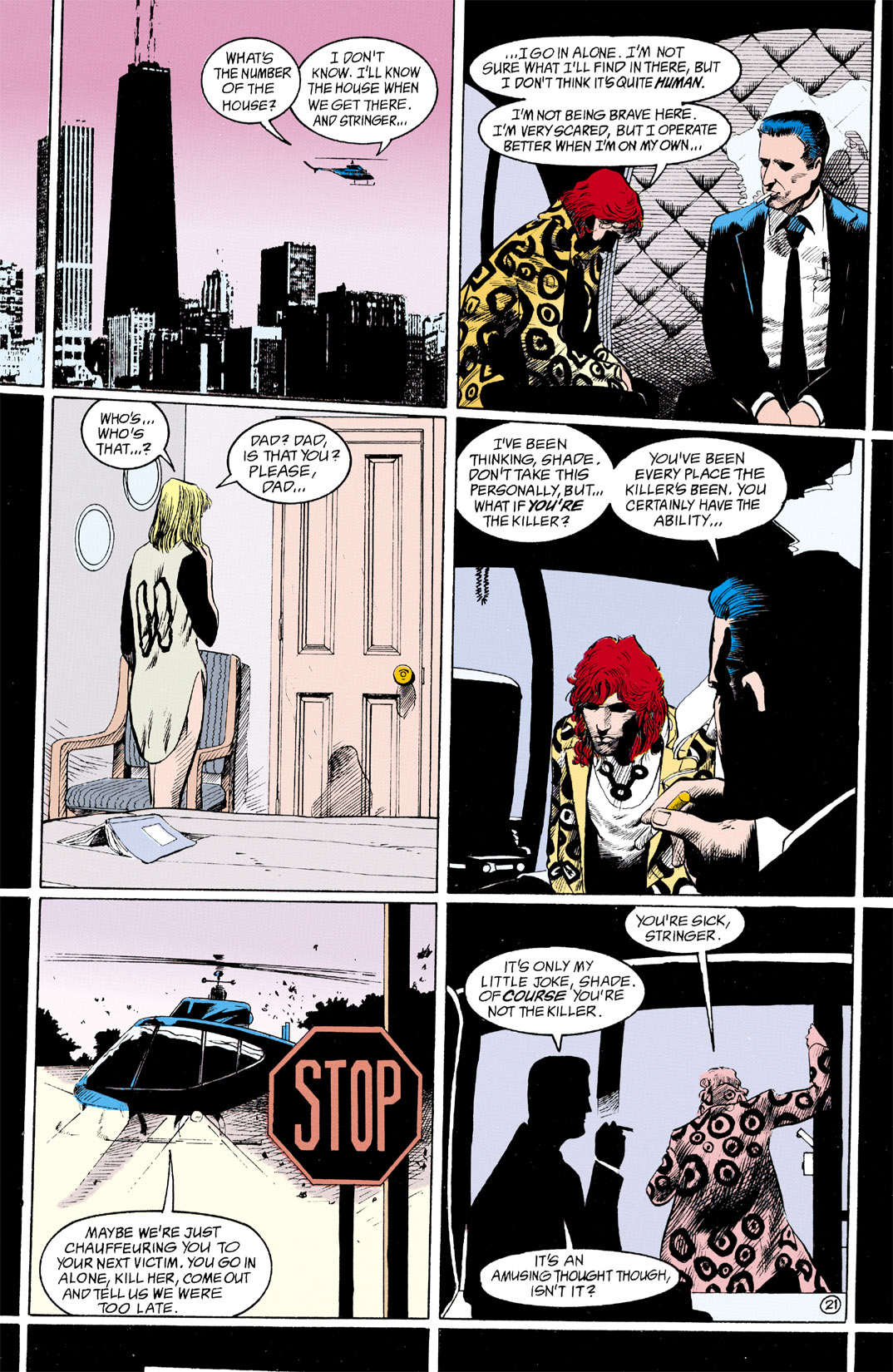 Read online Shade, the Changing Man comic -  Issue #11 - 22
