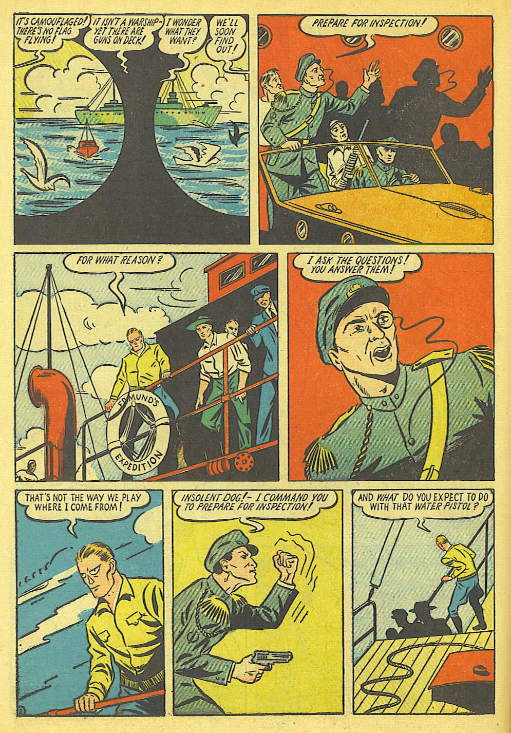 Read online Amazing Man Comics comic -  Issue #19 - 16