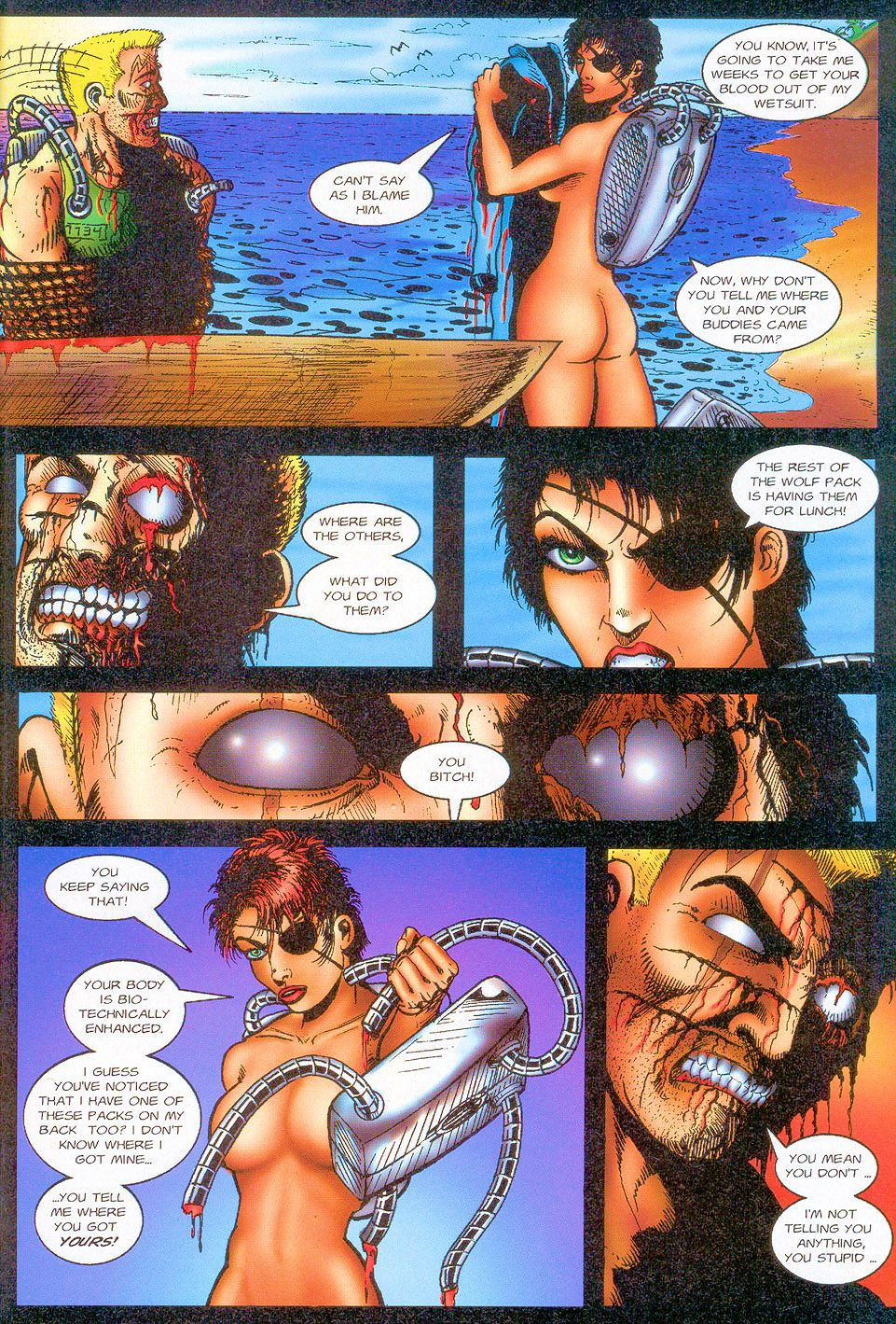 Read online Sisters of Mercy comic -  Issue #1 - 25
