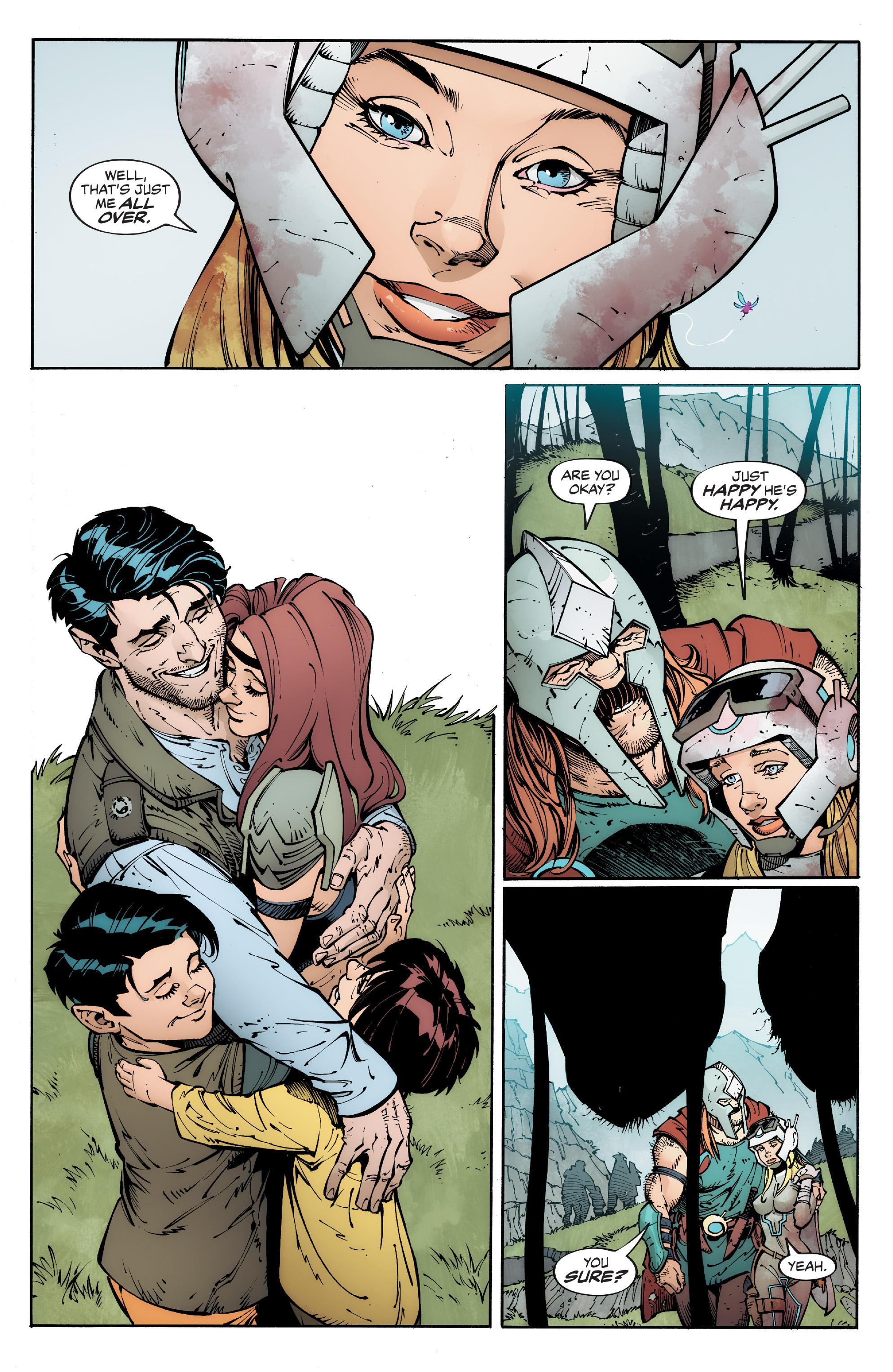 Read online Reborn comic -  Issue #6 - 35