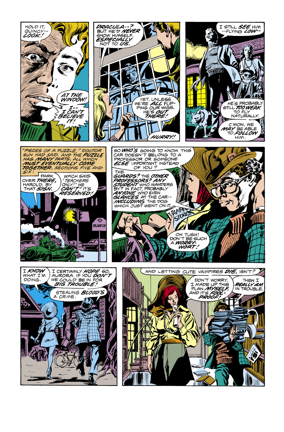 Tomb of Dracula (1972) issue 38 - Page 6