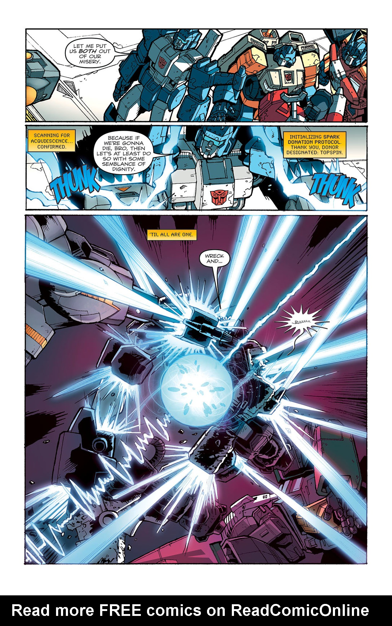 Read online Transformers: Last Stand of The Wreckers comic -  Issue #4 - 19
