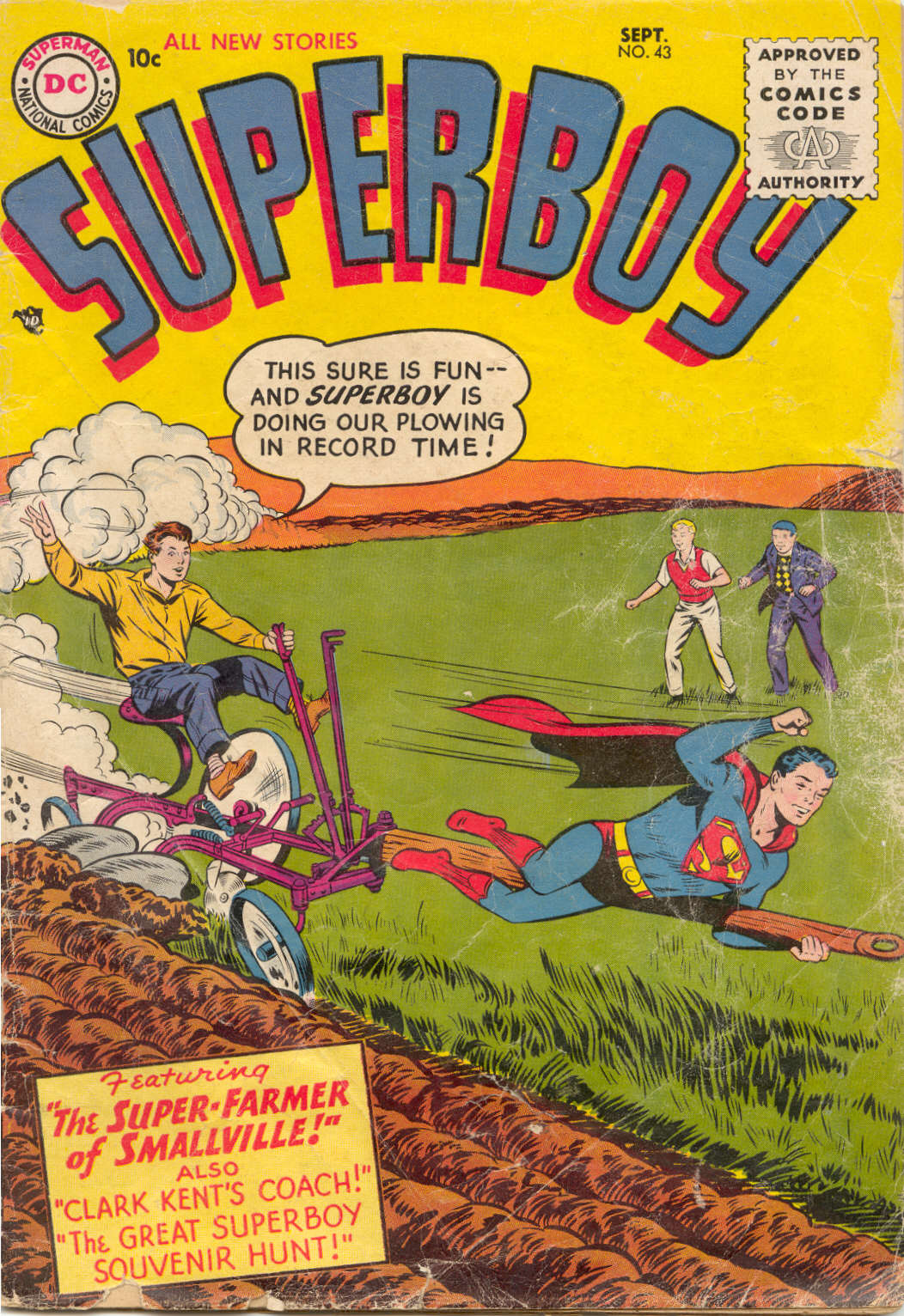 Superboy (1949) issue 43 - Page 1