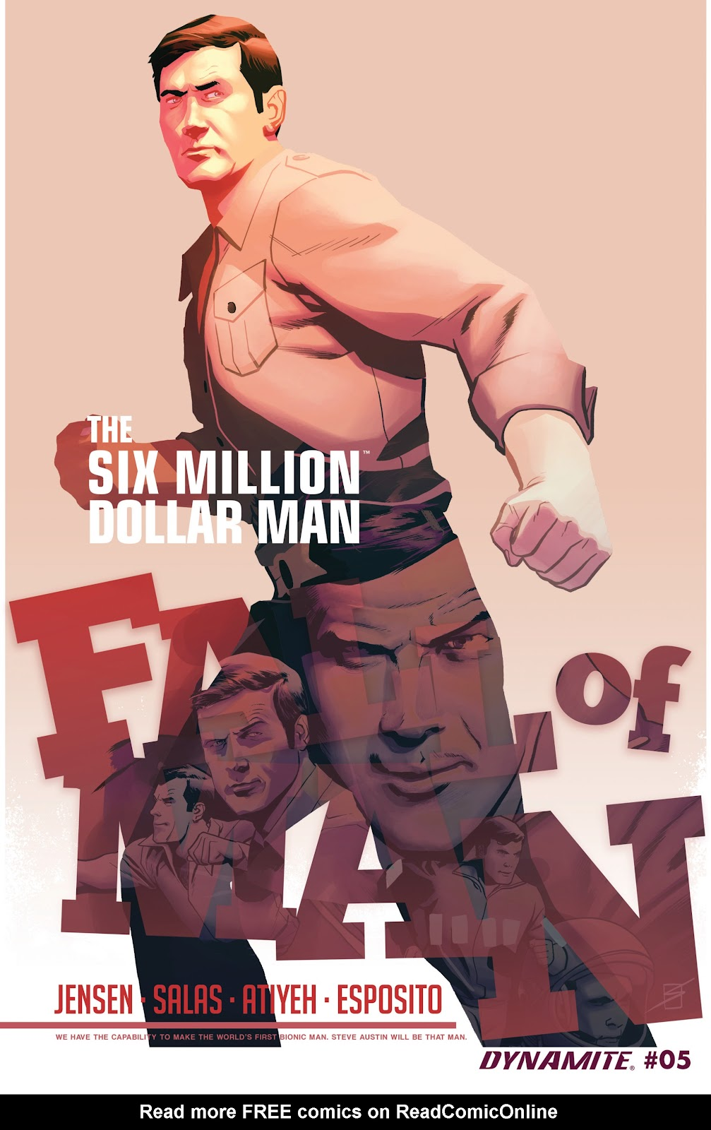 The Six Million Dollar Man: Fall of Man issue 5 - Page 1