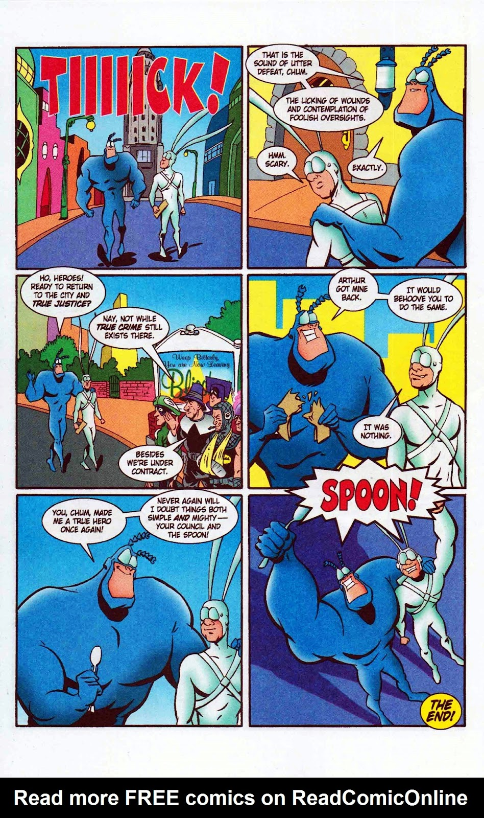 Read online The Tick: Days of Drama comic -  Issue #6 - 26