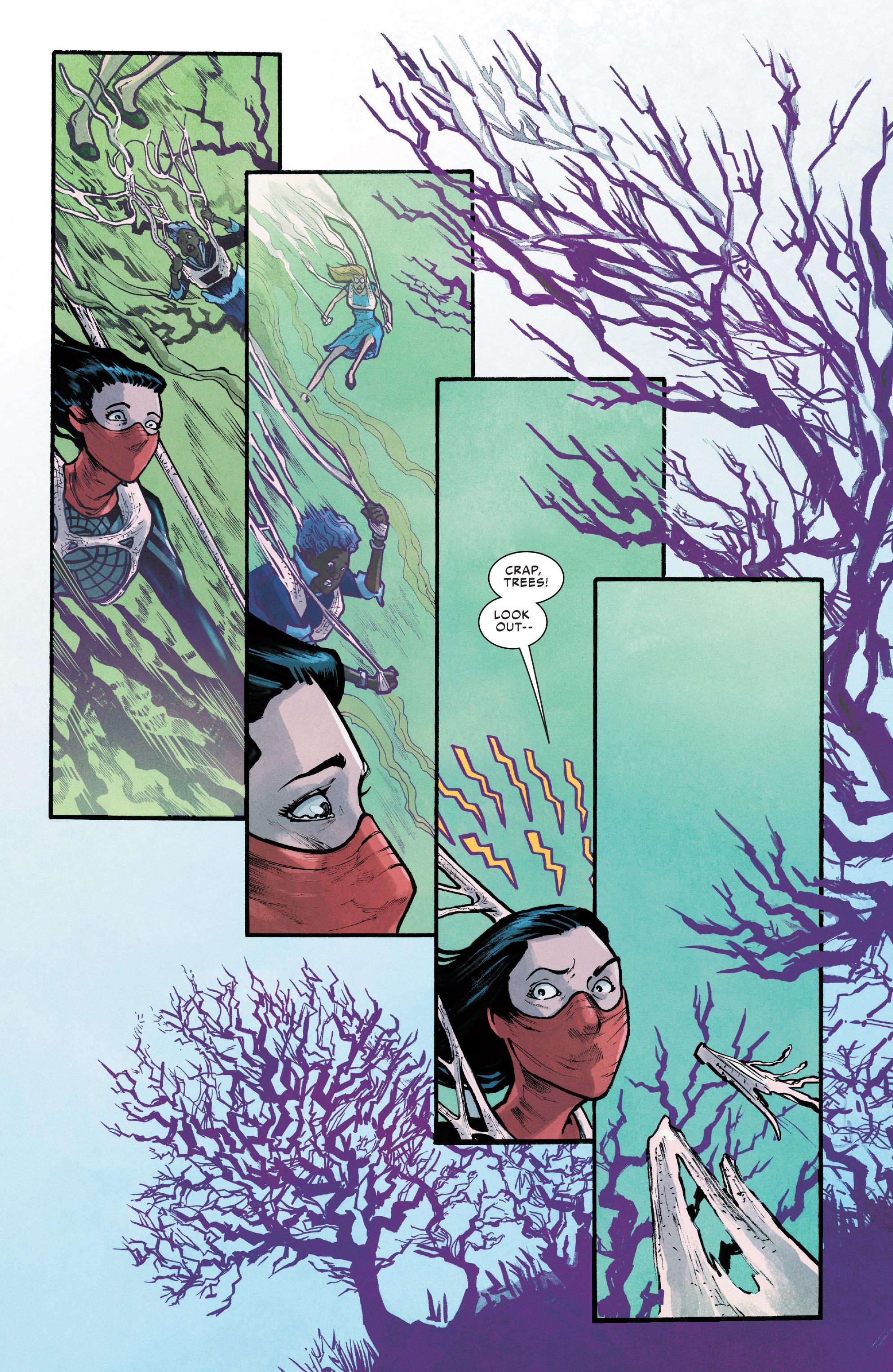 Read online Silk (2016) comic -  Issue #12 - 8