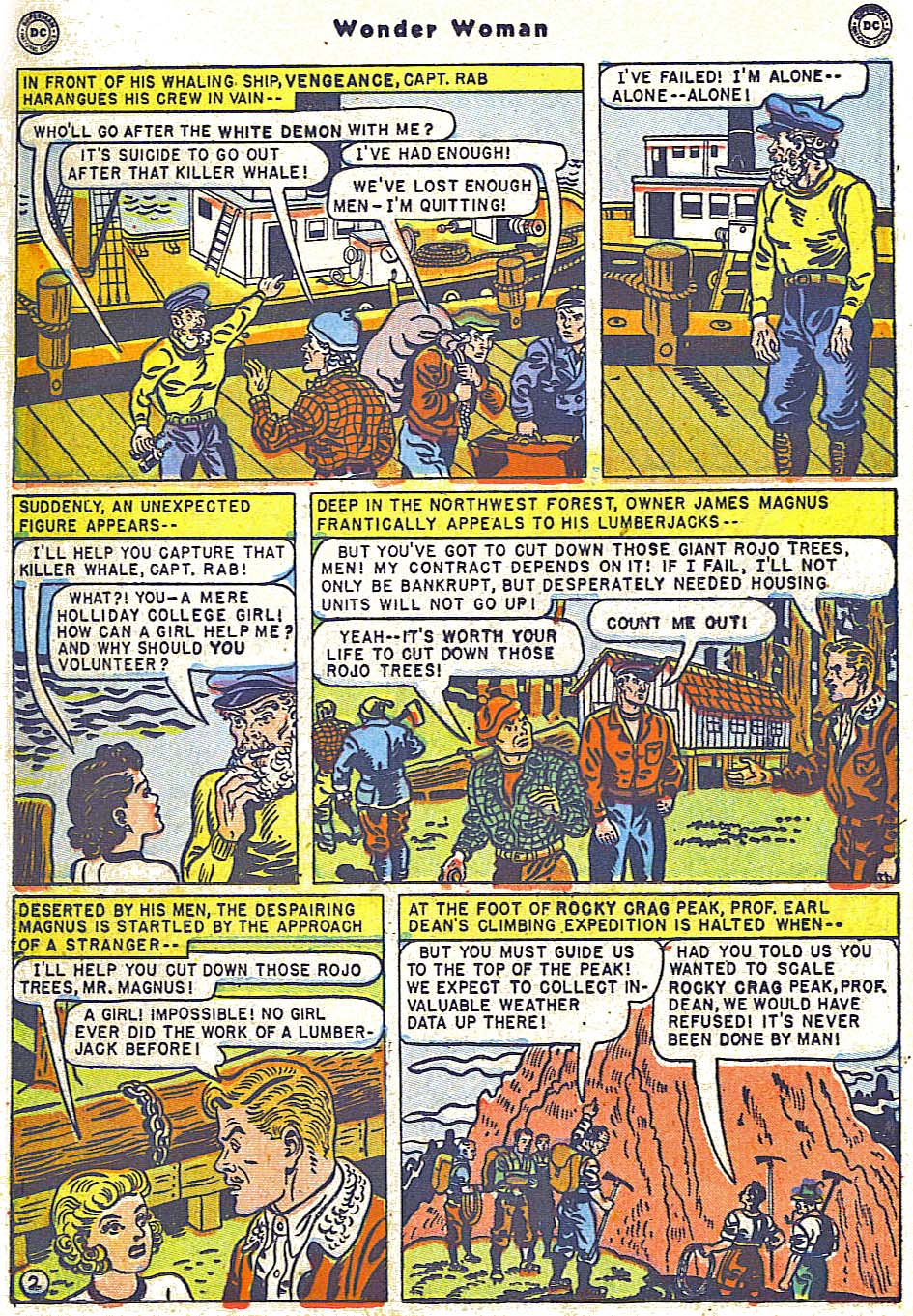 Read online Wonder Woman (1942) comic -  Issue #38 - 38