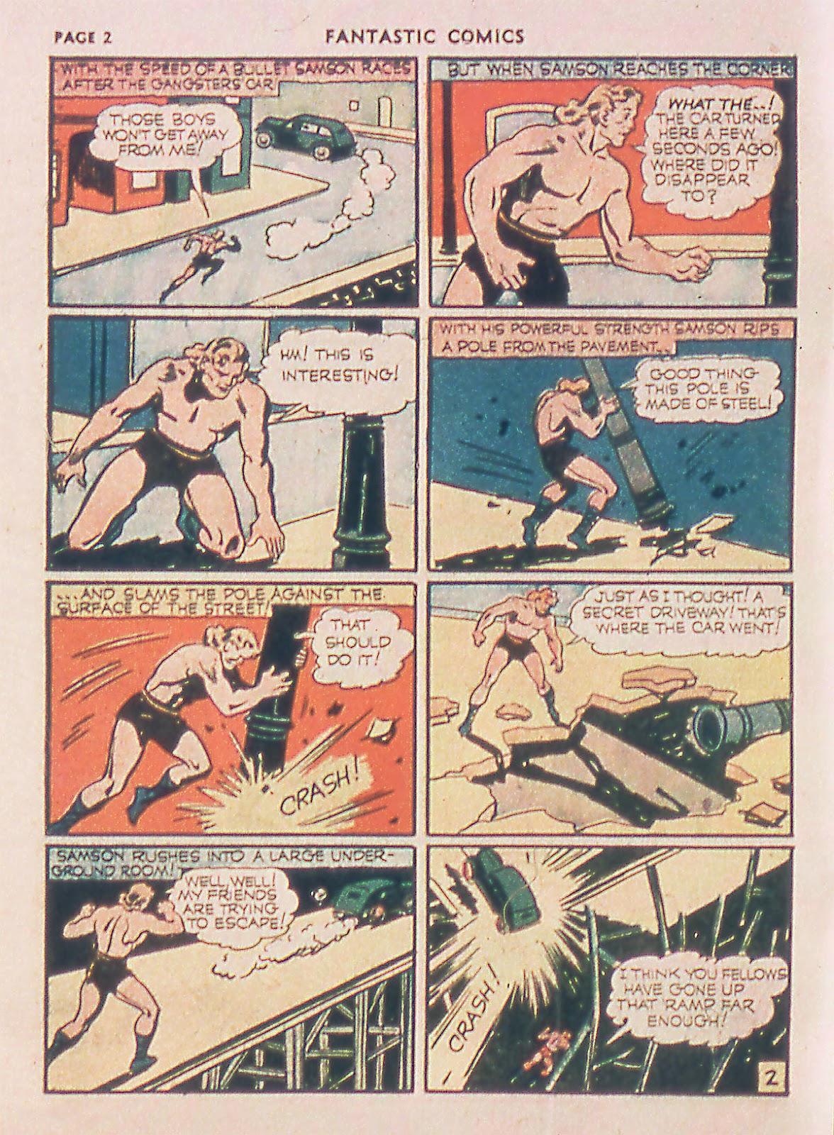 Read online Fantastic Comics comic -  Issue #18 - 4