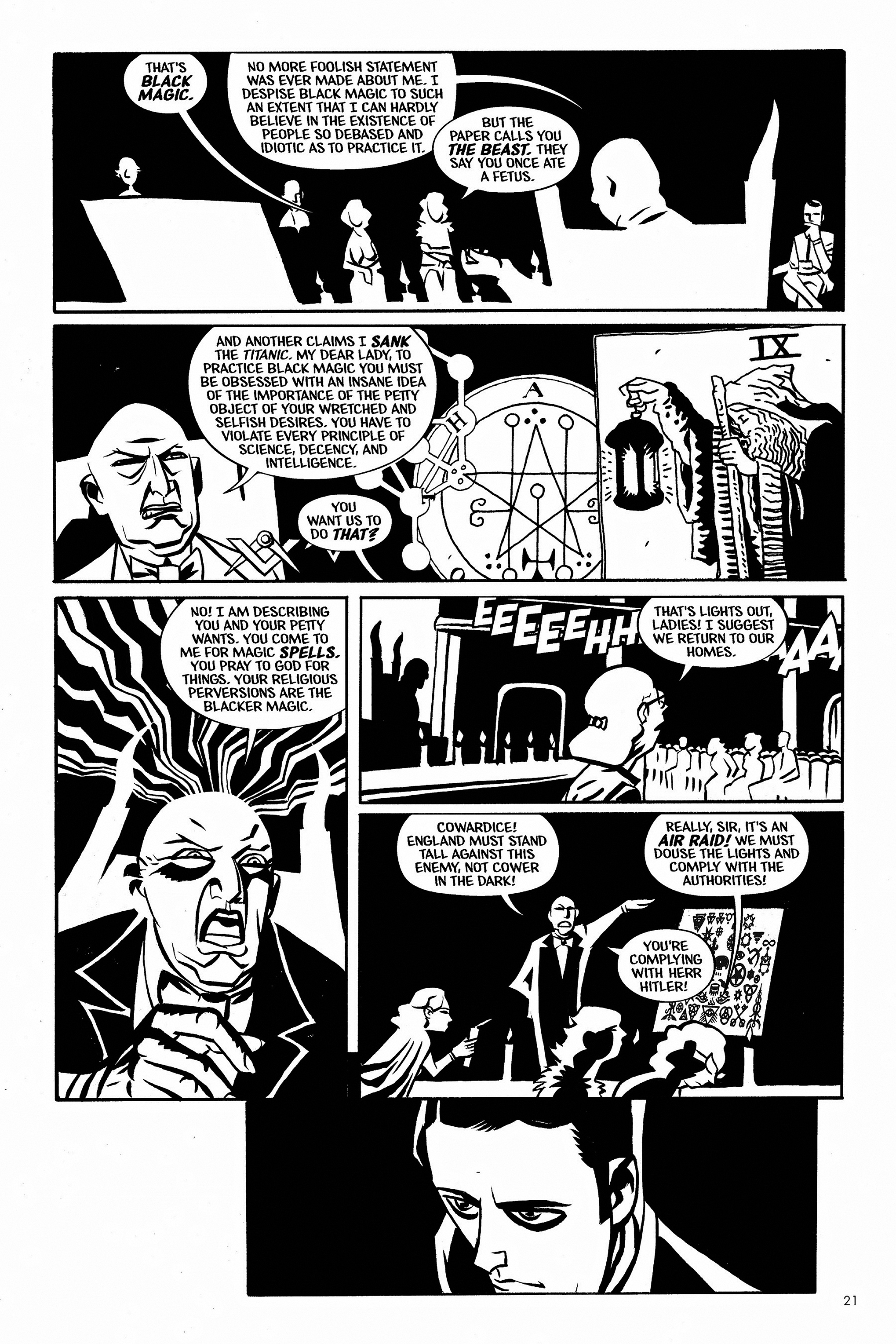 Read online Aleister & Adolf comic -  Issue # TPB - 21