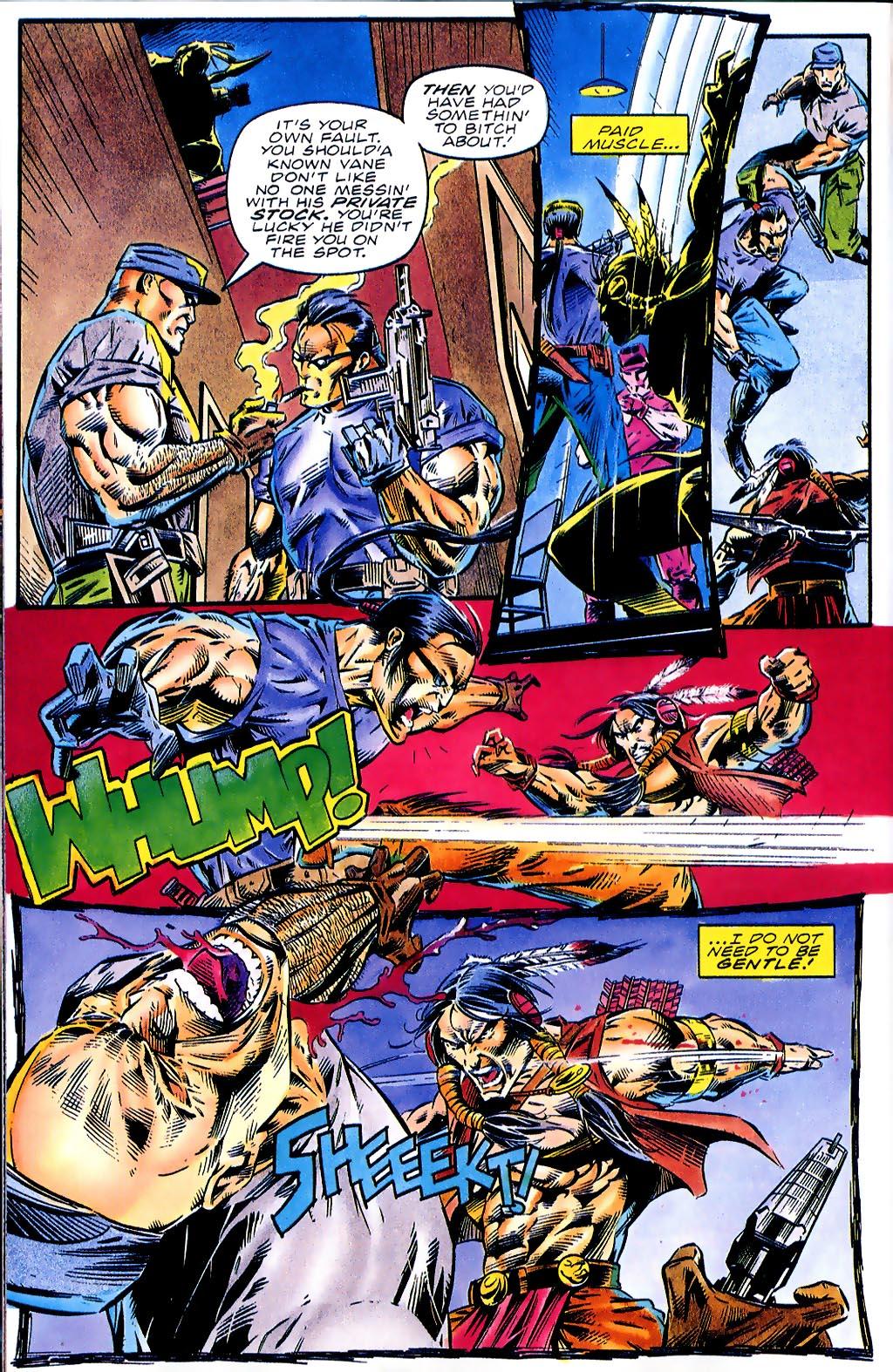 Read online Turok, Dinosaur Hunter (1993) comic -  Issue #41 - 16