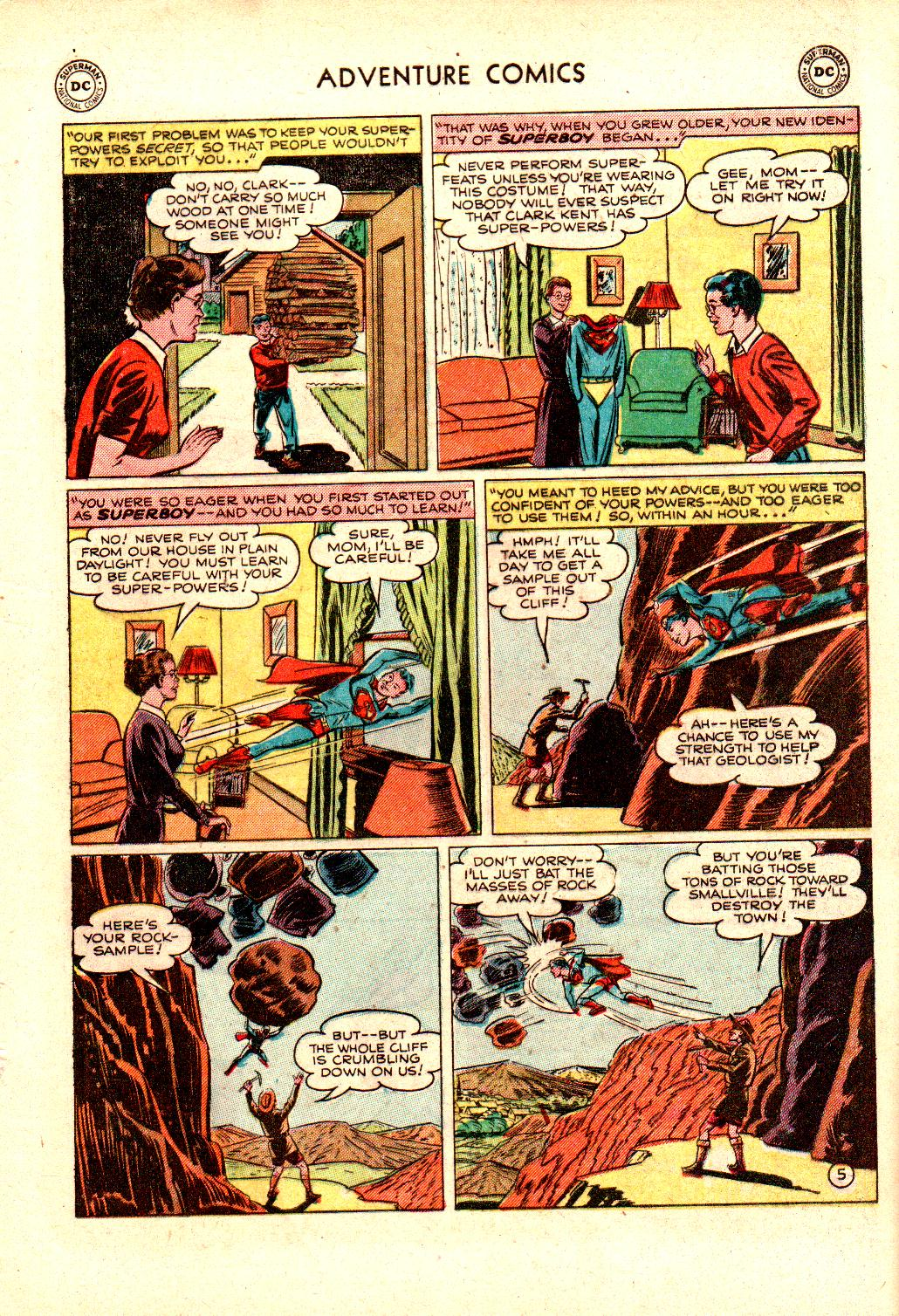 Read online Adventure Comics (1938) comic -  Issue #173 - 7