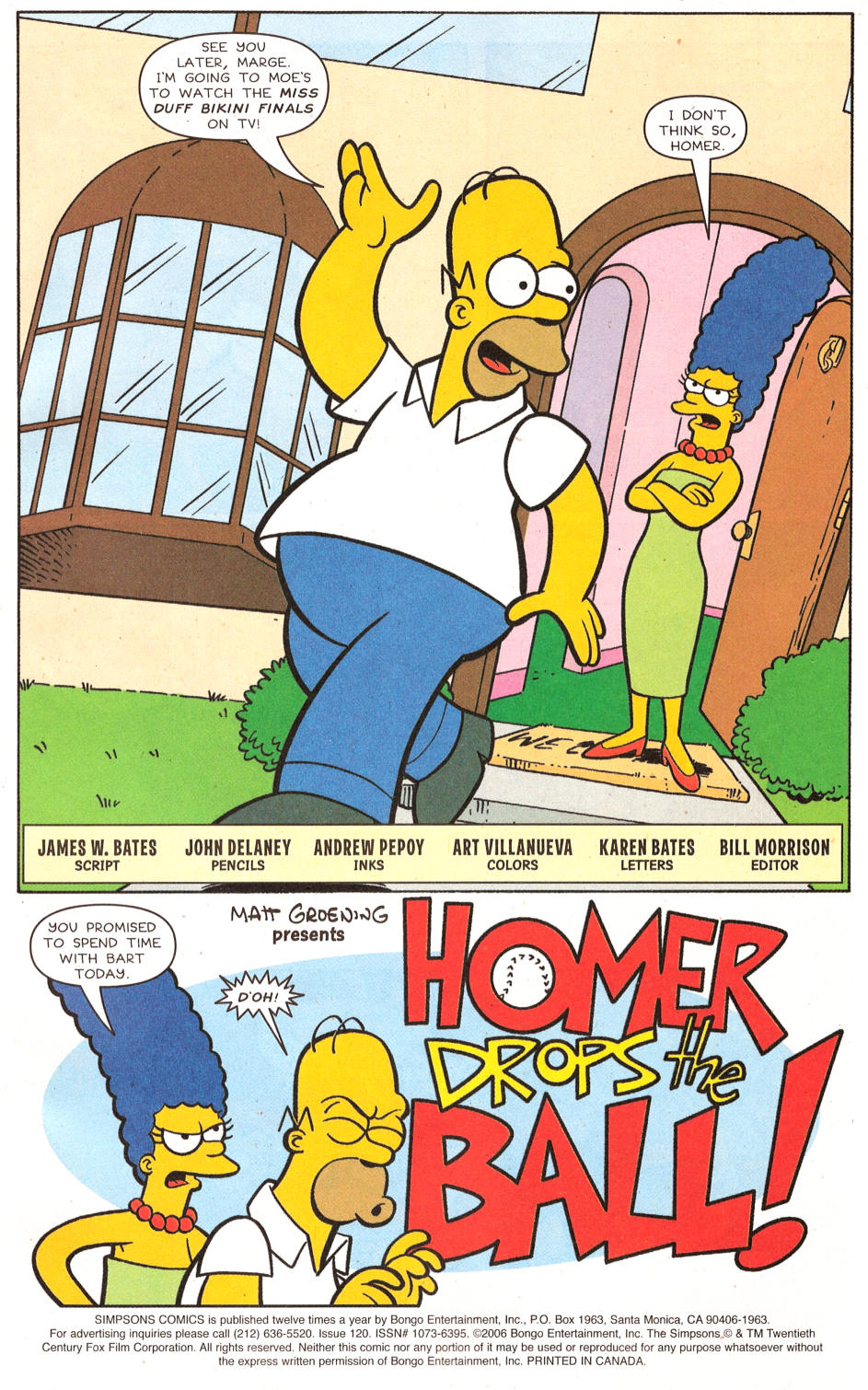 Read online Simpsons Comics comic -  Issue #120 - 2
