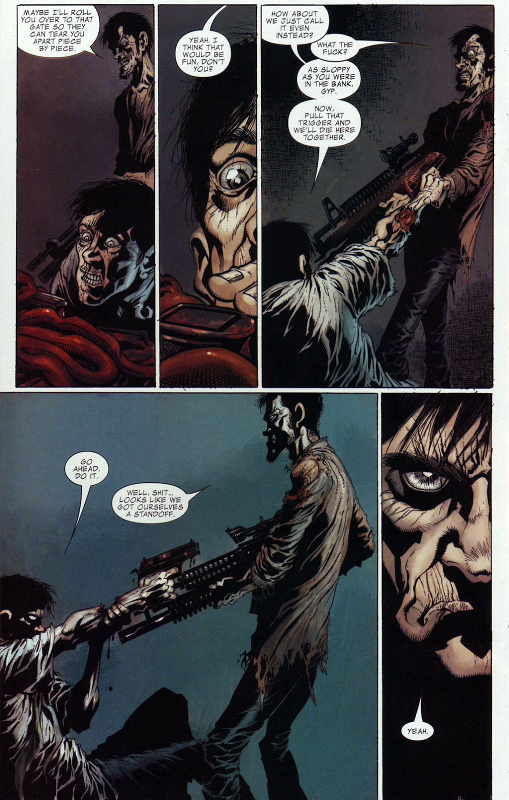 Read online Zombie (2006) comic -  Issue #4 - 16