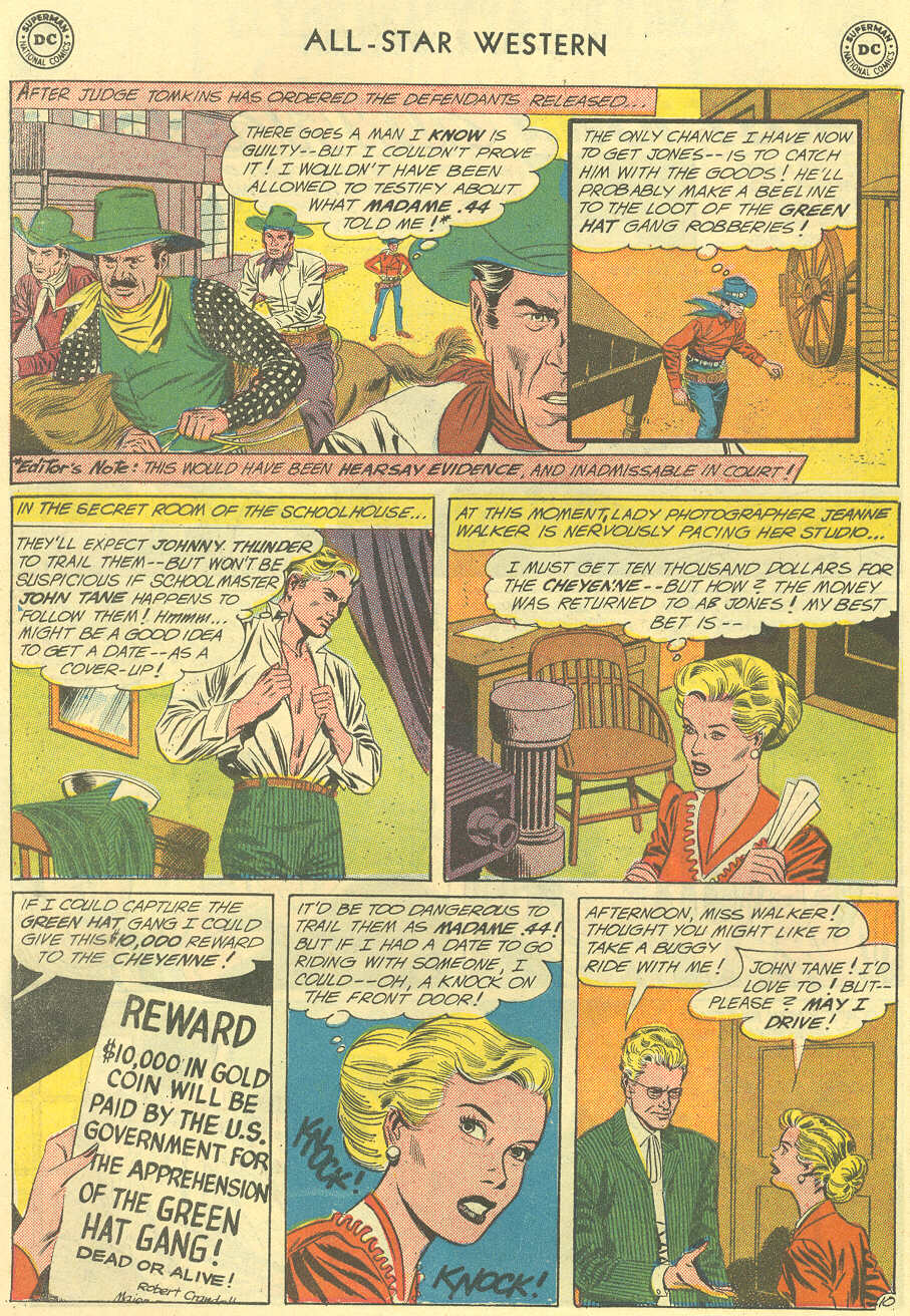 Read online All-Star Western (1951) comic -  Issue #119 - 14