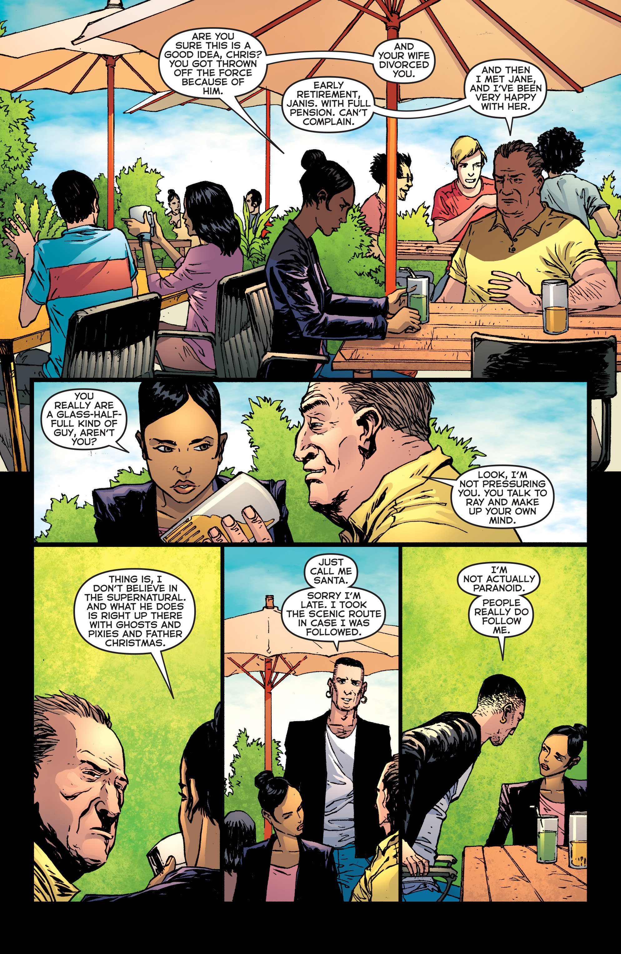 Read online Second Sight comic -  Issue #3 - 7