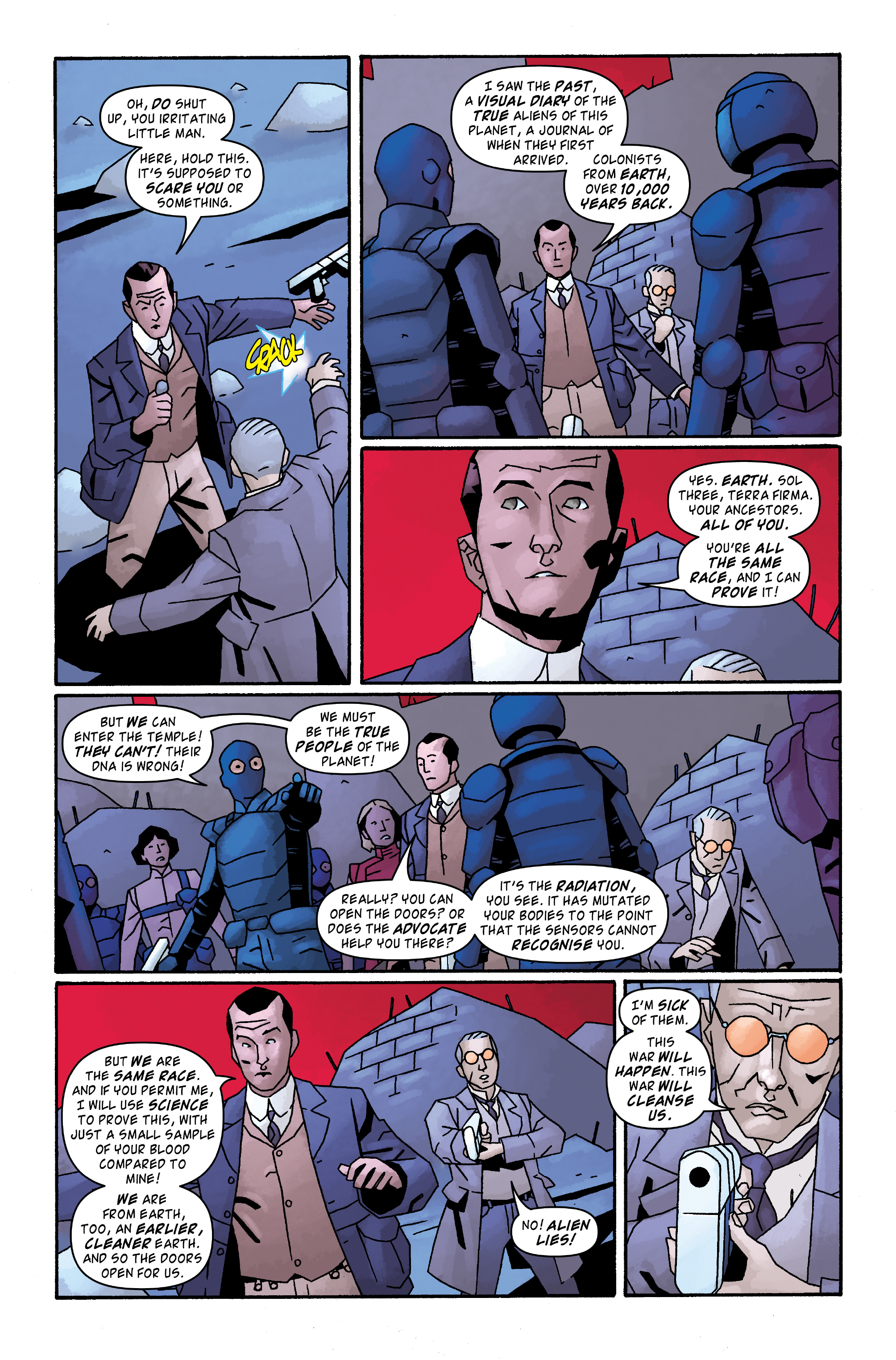 Read online Doctor Who: The Tenth Doctor Archives comic -  Issue #33 - 13