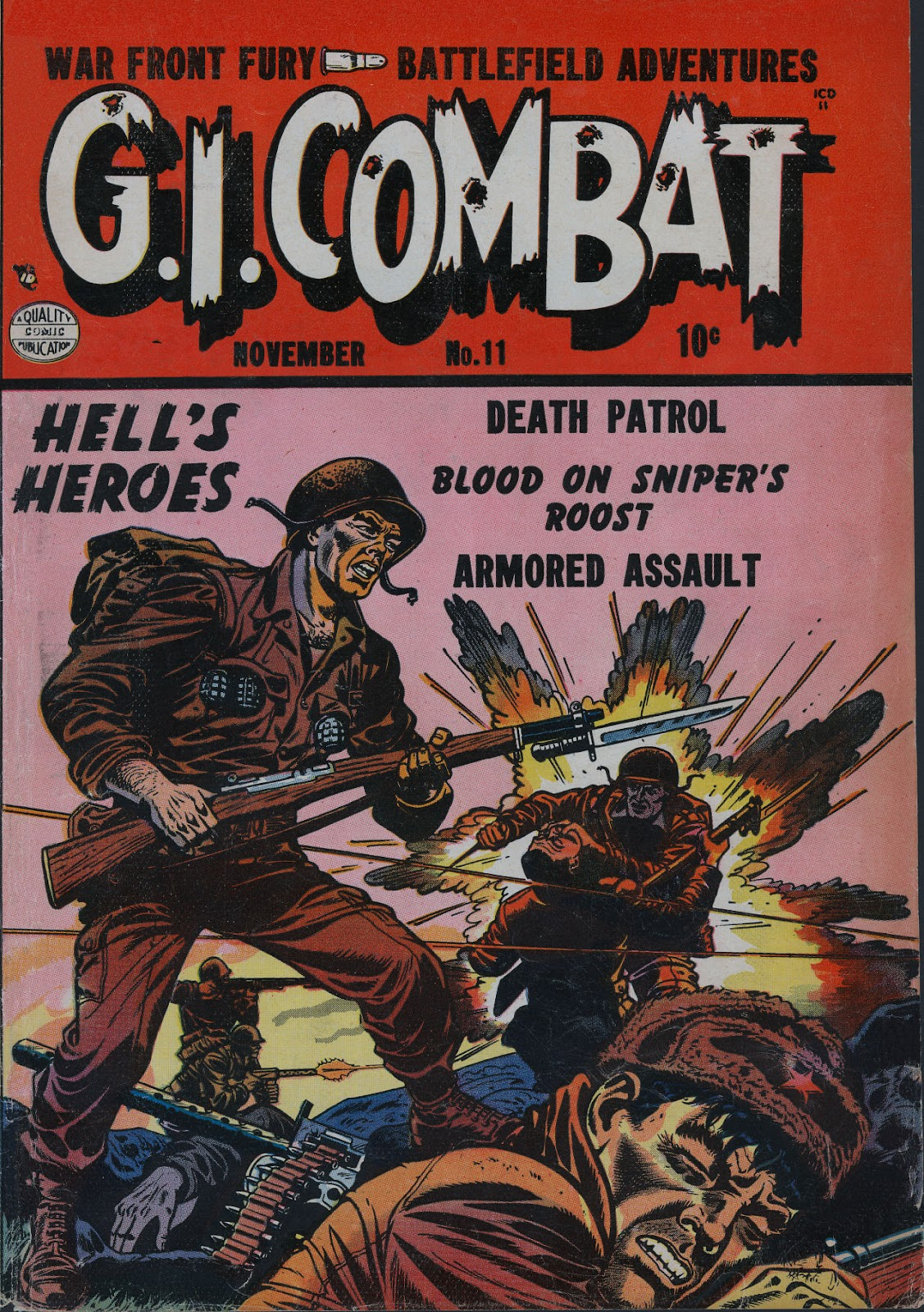 G.I. Combat (1952) issue 11 - Page 1