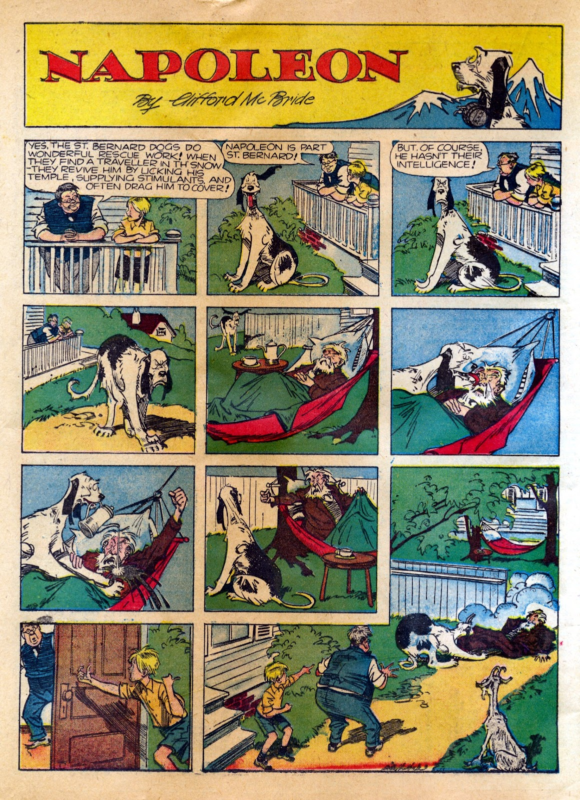 Read online Famous Funnies comic -  Issue #82 - 36