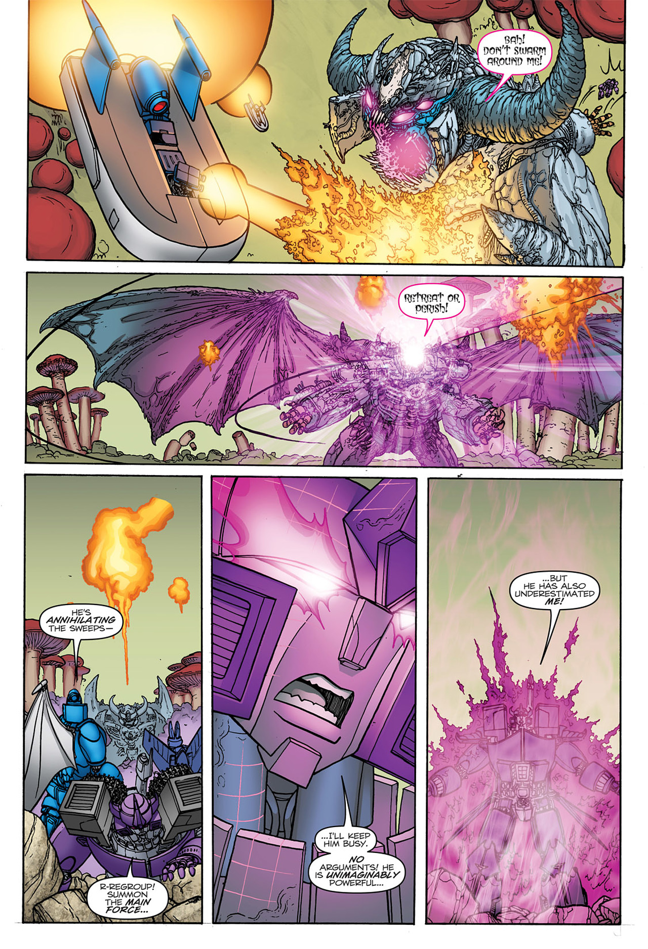 Read online Transformers: Heart of Darkness comic -  Issue #4 - 14