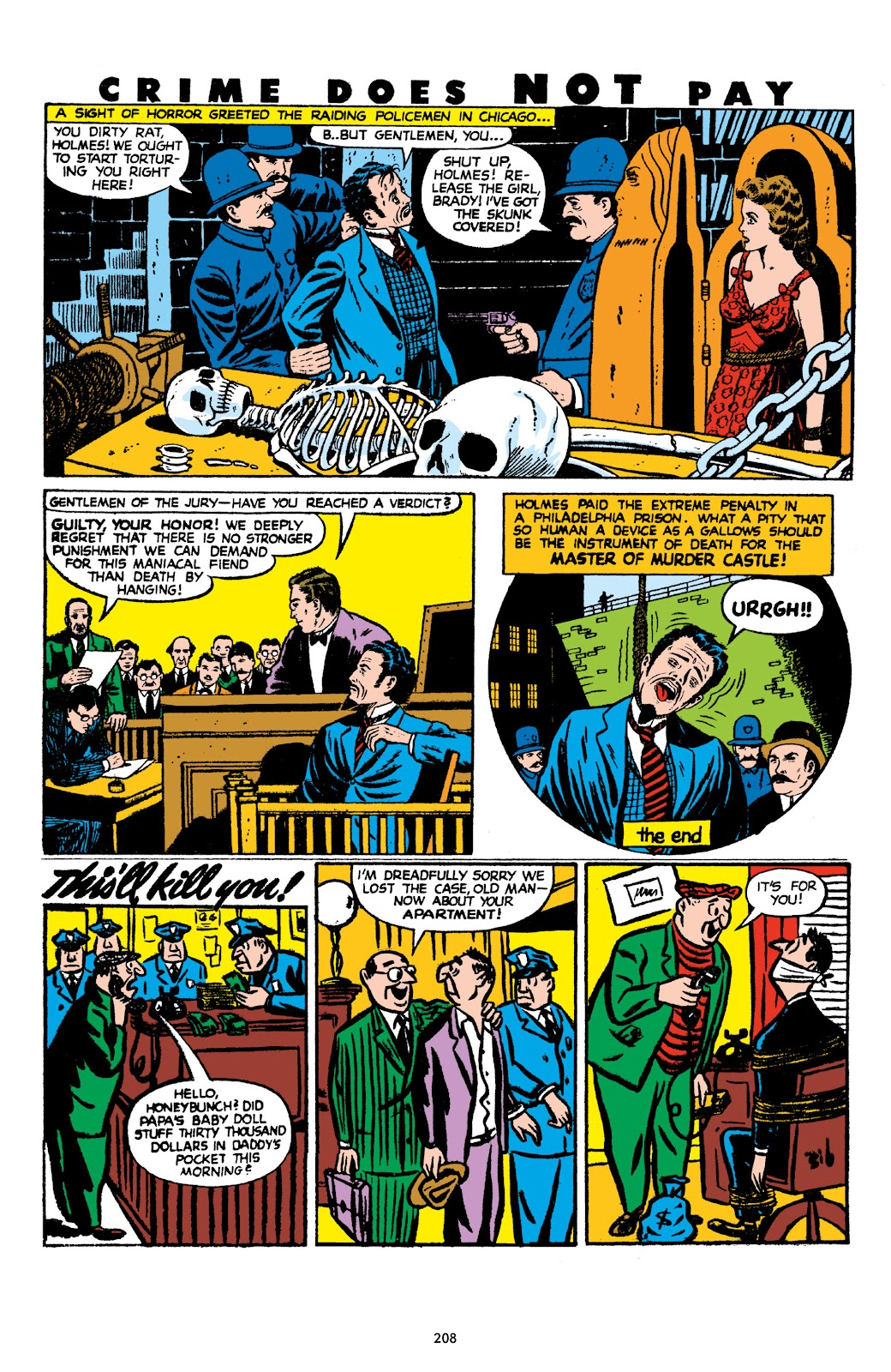 Read online Crime Does Not Pay Archives comic -  Issue # TPB 8 (Part 3) - 9