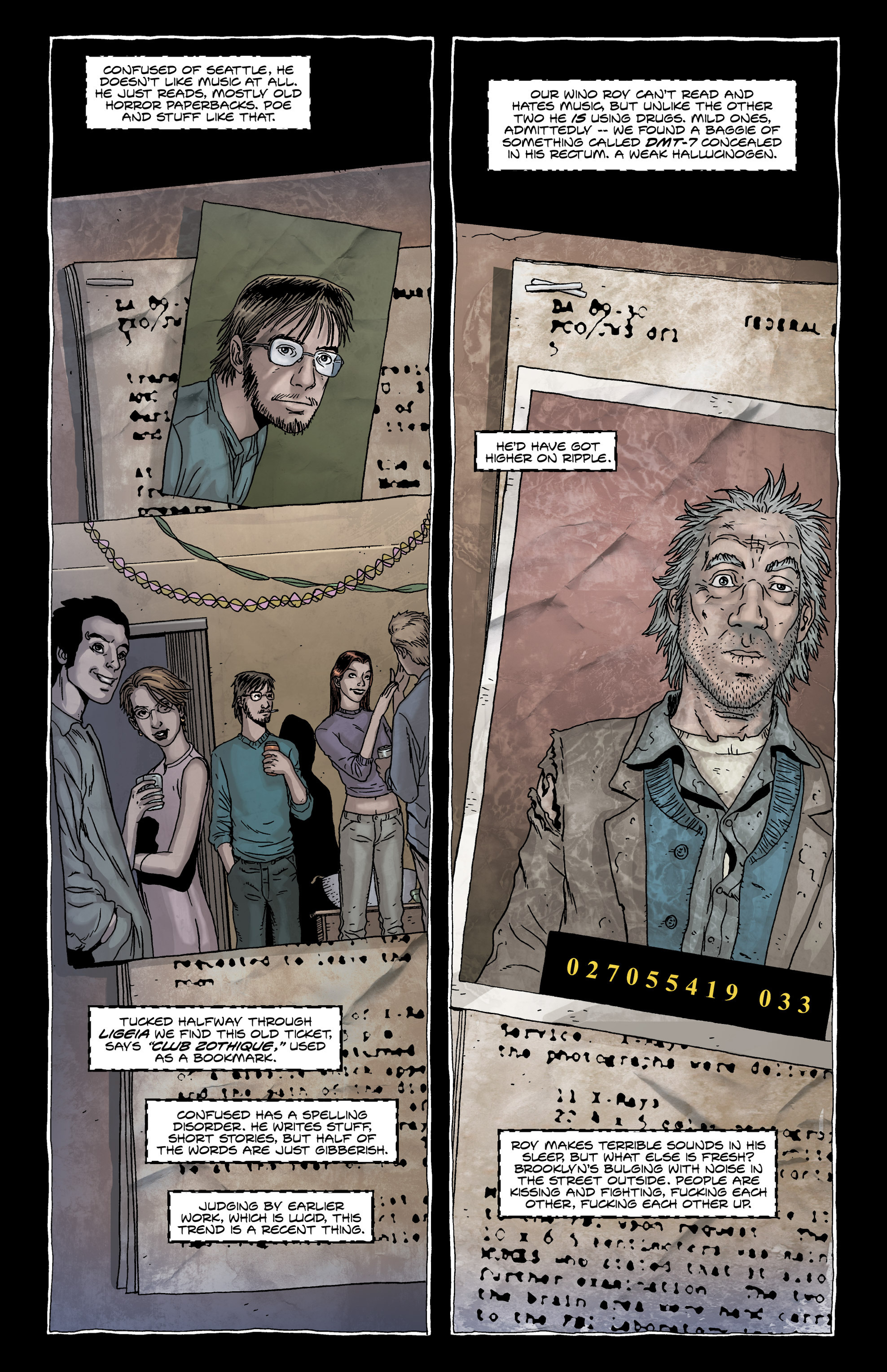 Read online Alan Moore's The Courtyard comic -  Issue # TPB - 15