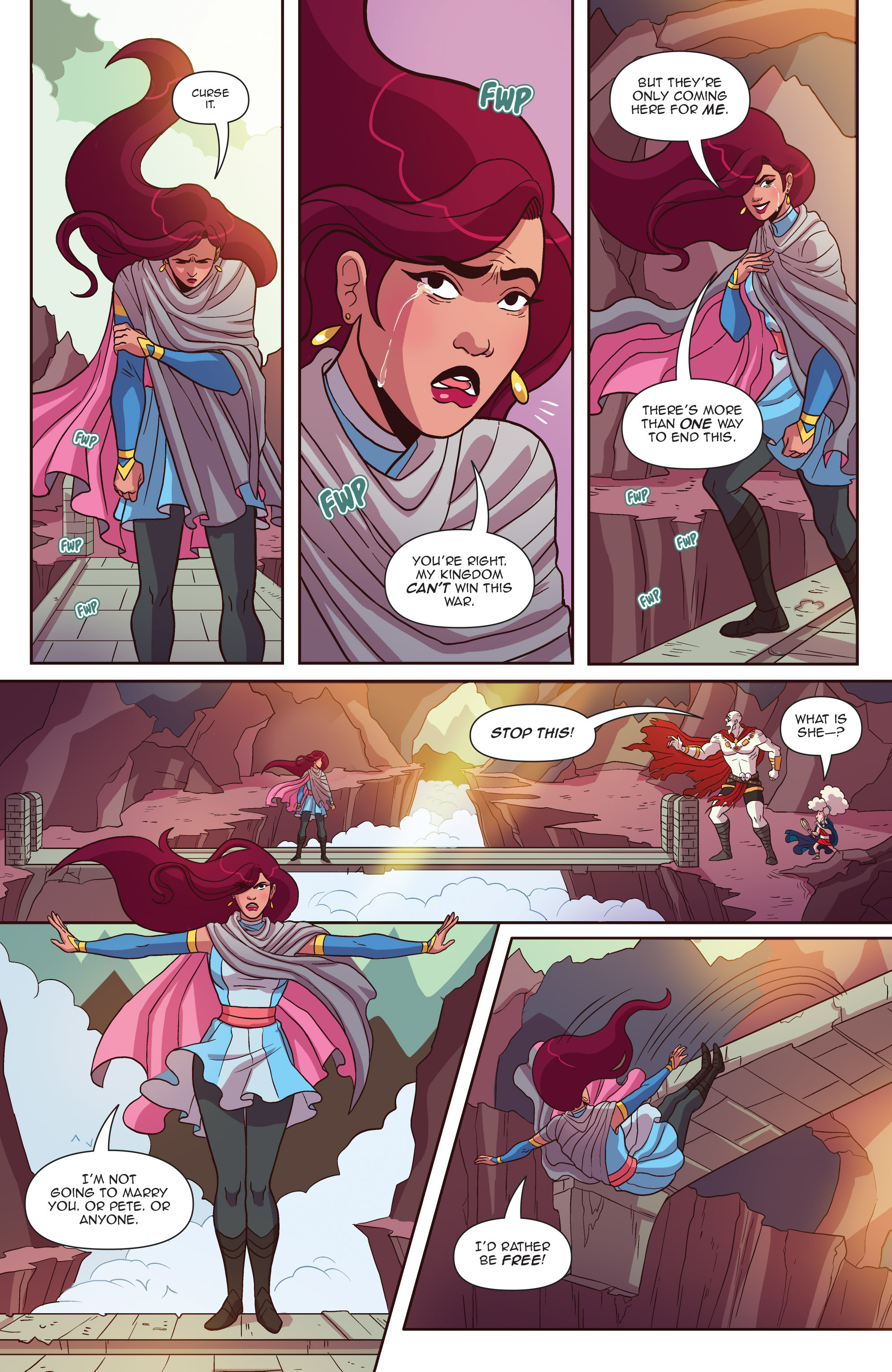 Read online Another Castle comic -  Issue #4 - 13