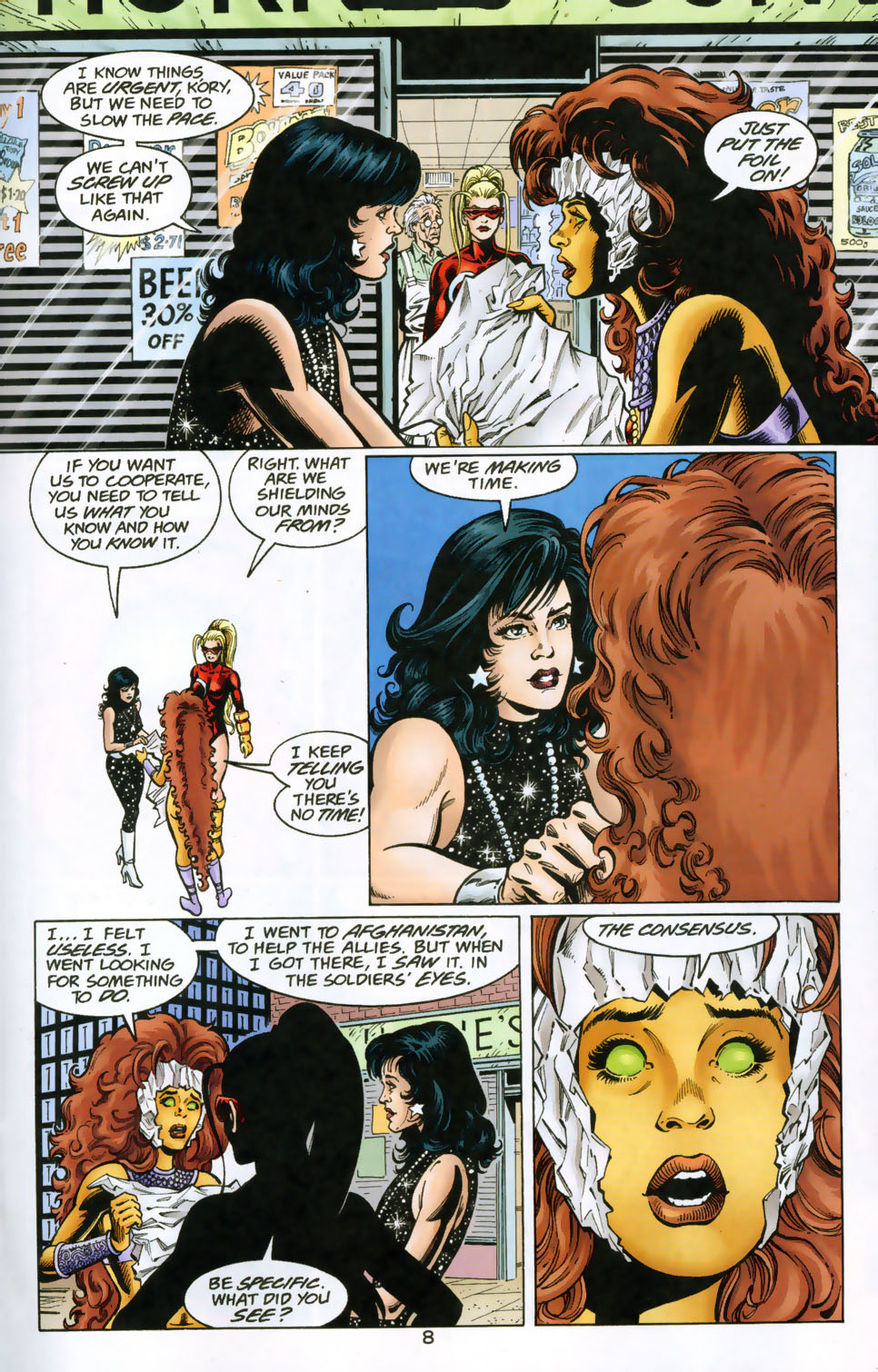 Read online The Titans (1999) comic -  Issue #49 - 9