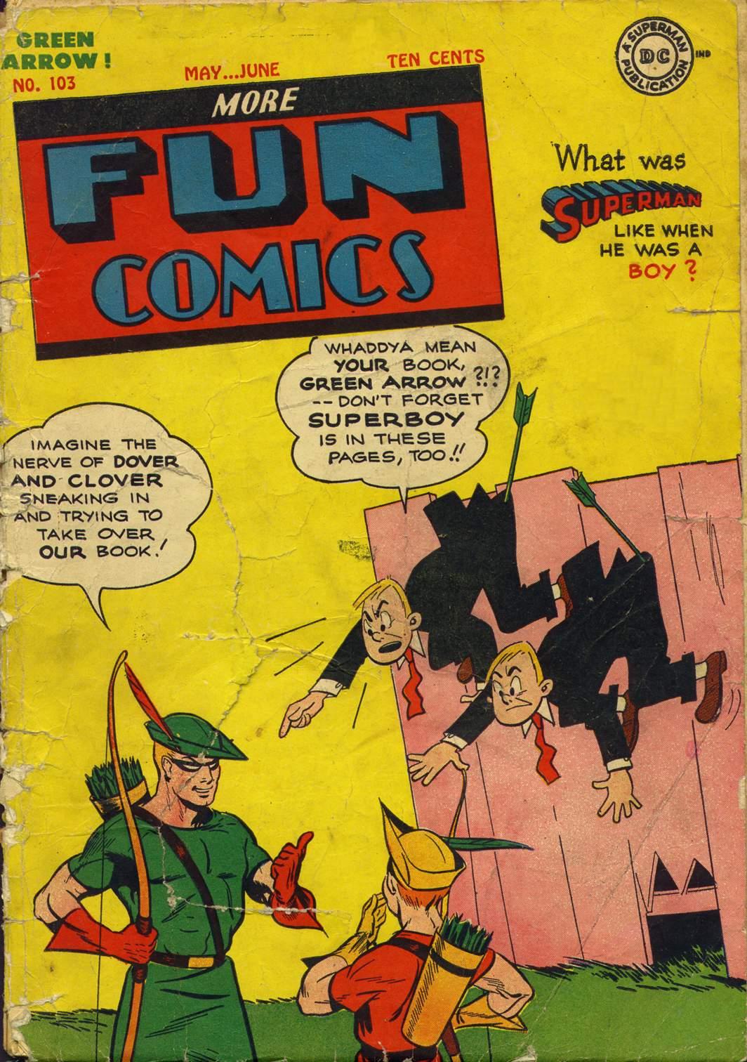 More Fun Comics 103 Page 1