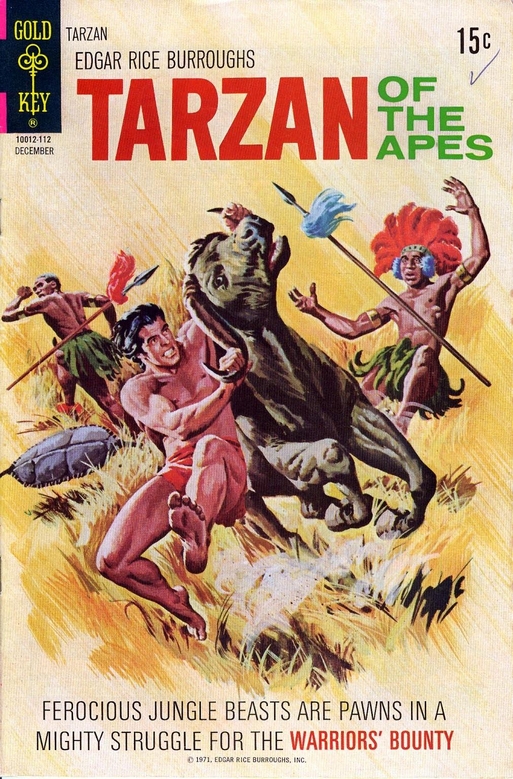 Tarzan (1962) issue 205 - Page 1