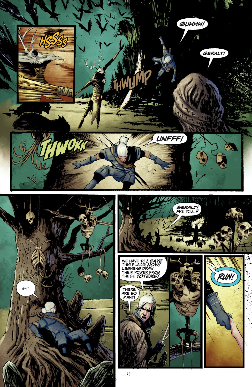 Read online The Witcher Omnibus comic -  Issue # TPB (Part 1) - 72