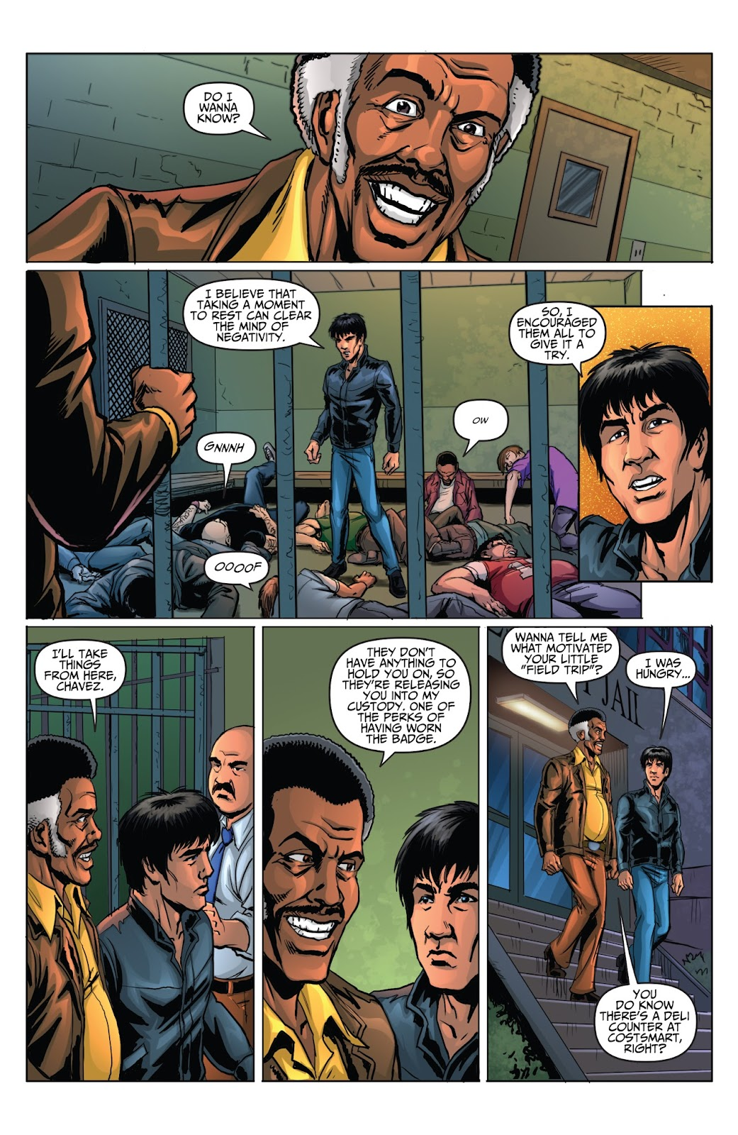 Bruce Lee: Walk of the Dragon issue Full - Page 22