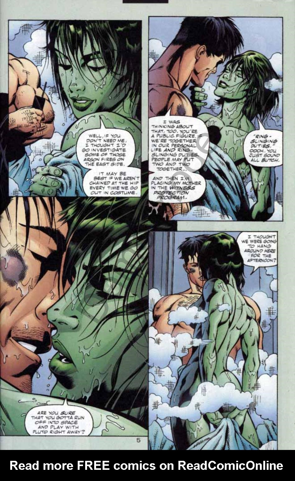 Read online Green Lantern: Our Worlds At War comic -  Issue # Full - 6