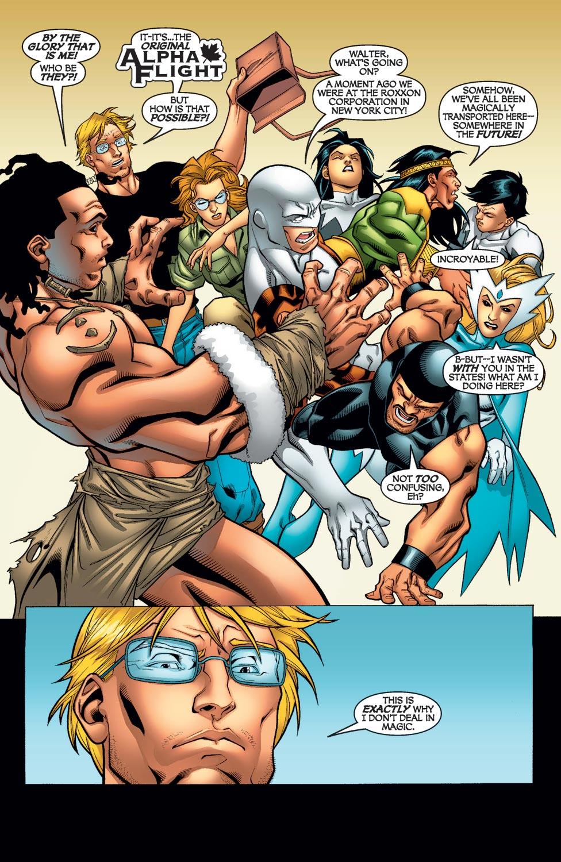 Read online Alpha Flight (2004) comic -  Issue #12 - 19
