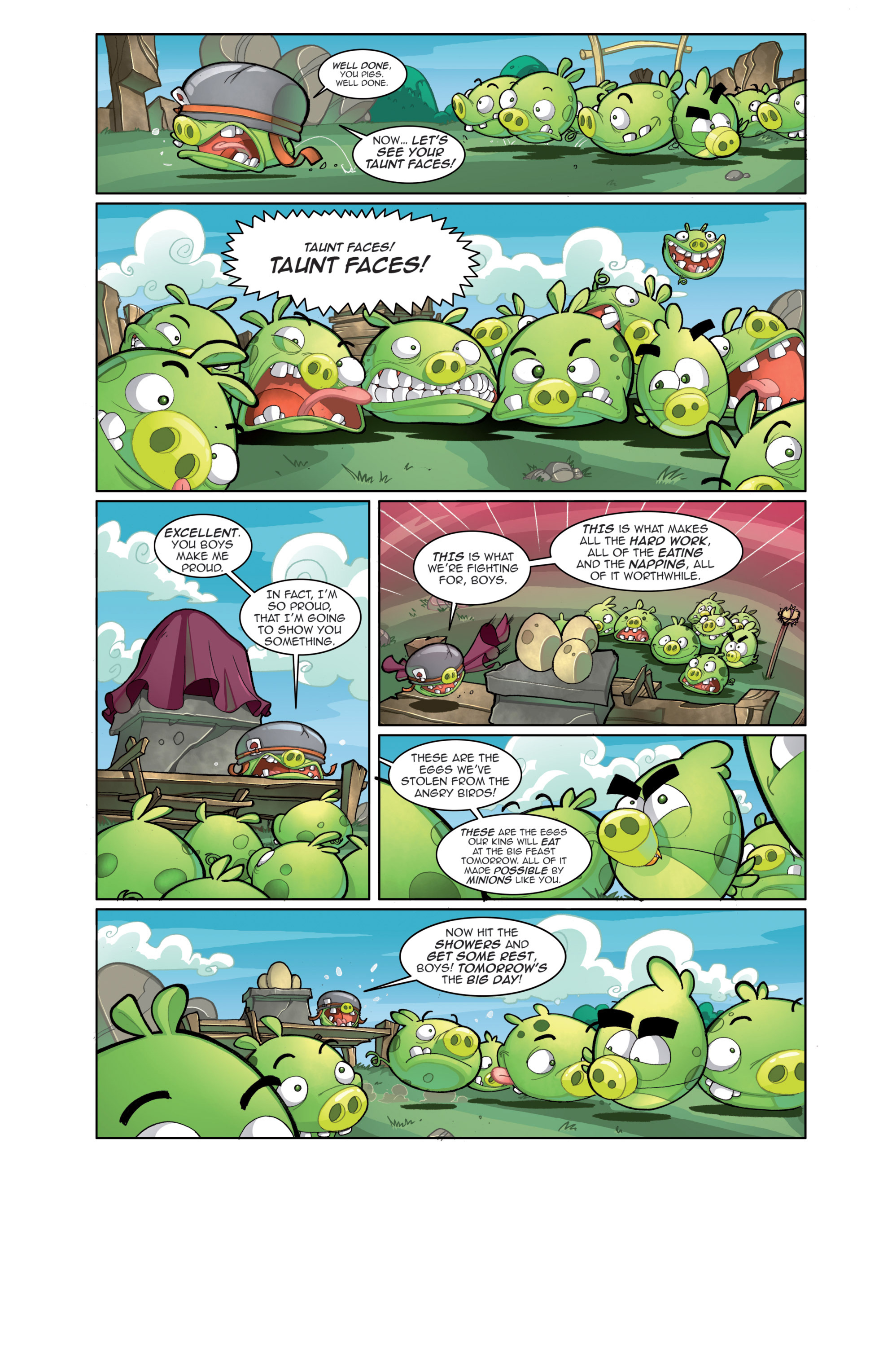 Read online Angry Birds Comics (2014) comic -  Issue #4 - 10