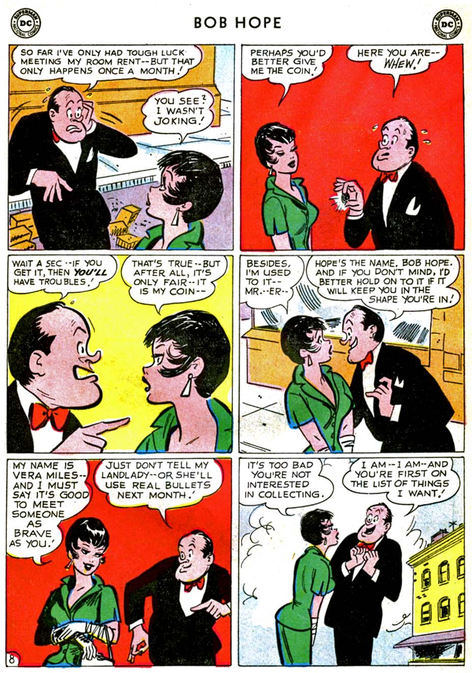 The Adventures of Bob Hope issue 71 - Page 10