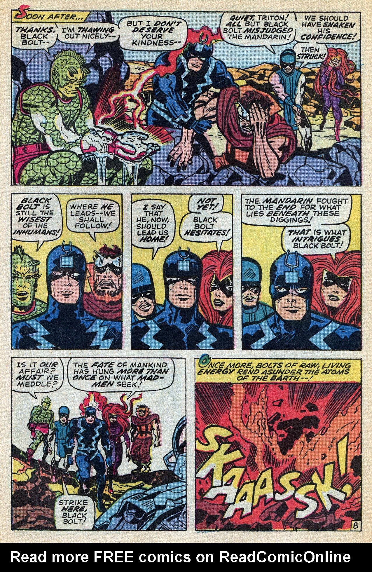 Read online Amazing Adventures (1970) comic -  Issue #3 - 13